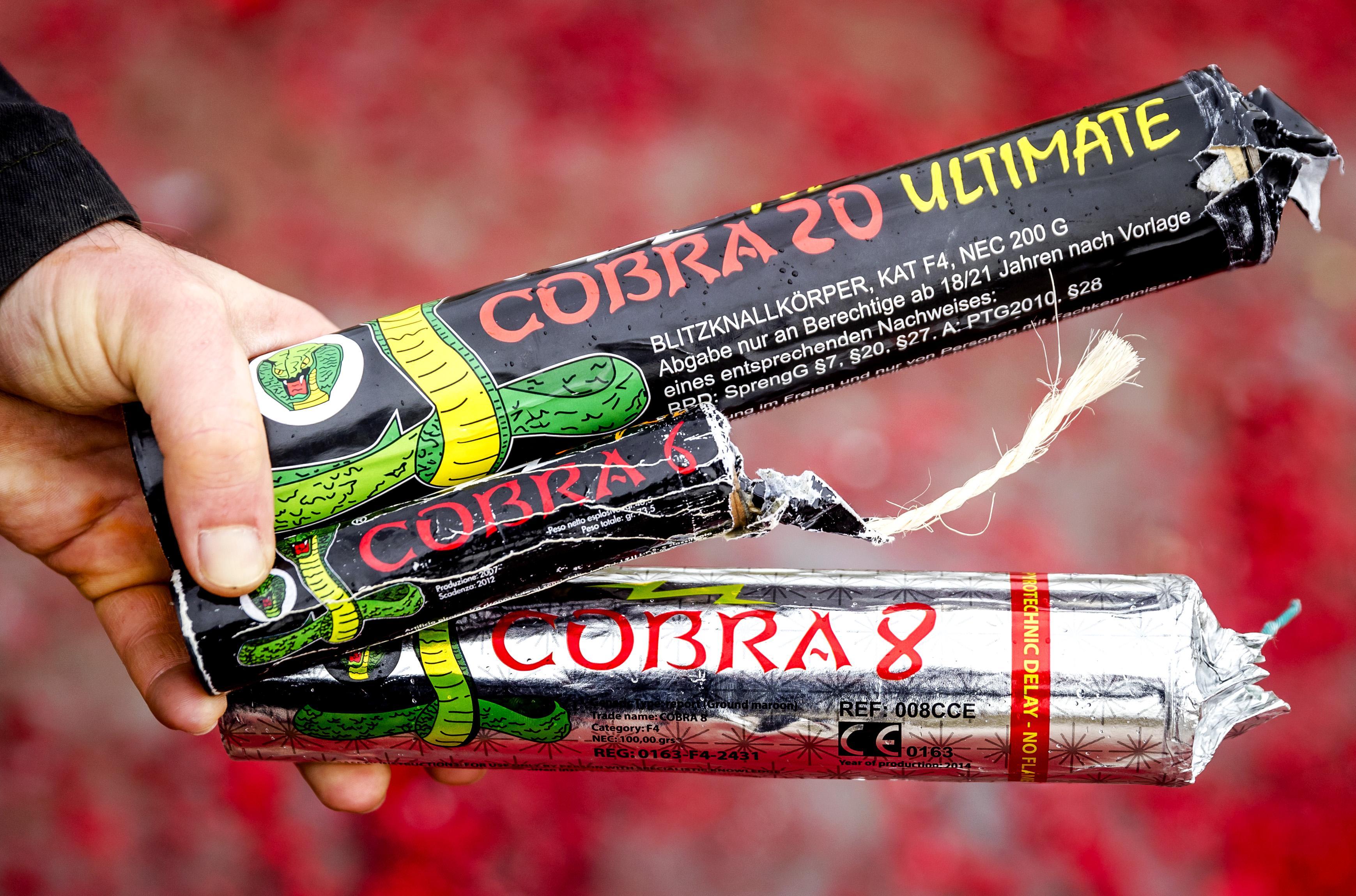 Zaandammers veroordeeld voor bezit illegaal vuurwerk