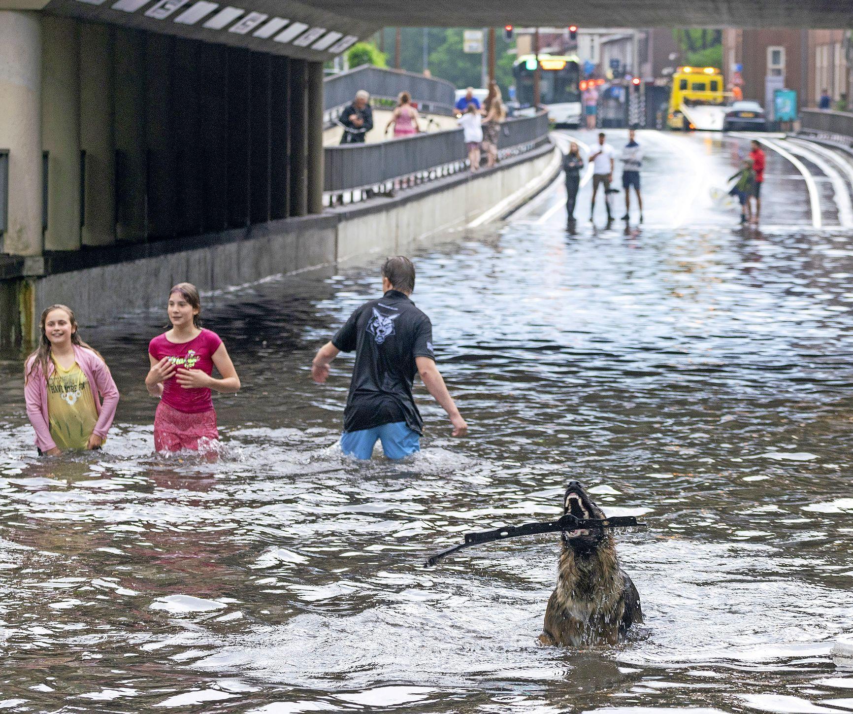 Code geel in groot deel van het land wegens kans op onweer