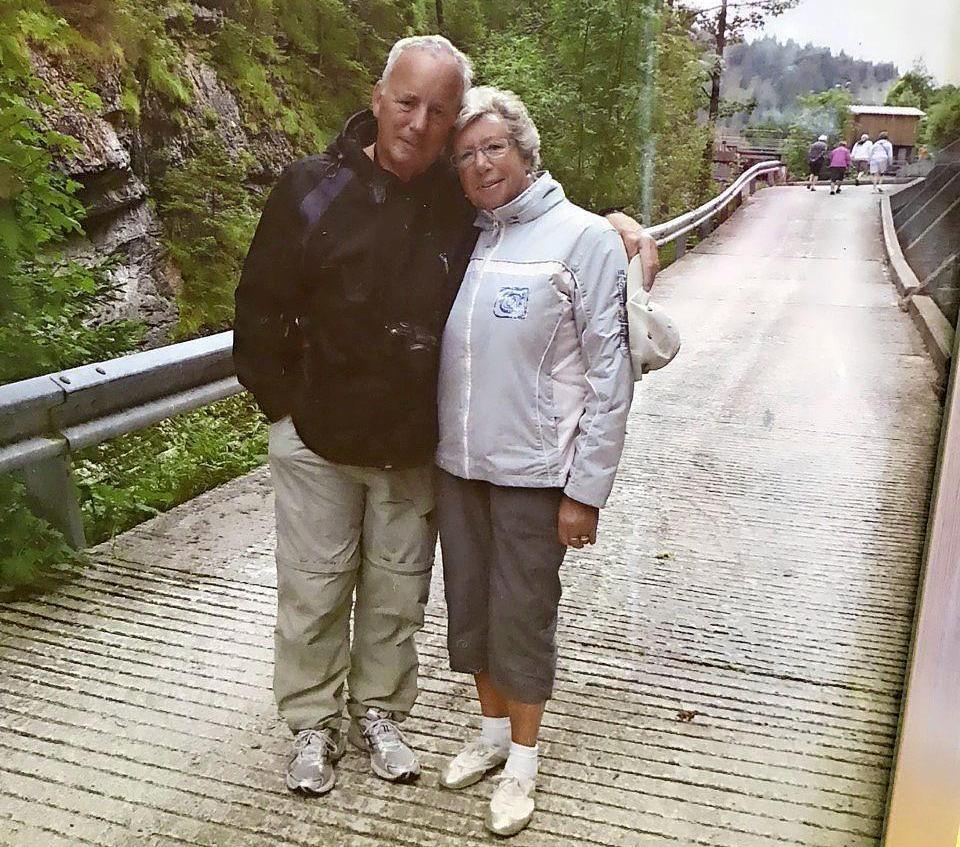 Op fietsvakantie naar Tirol stond de Larense Ria Zwanikken (67) in vuur en vlam voor Henk Wander uit Poortugaal: 'Ik was zo verliefd als een jong veulen!'