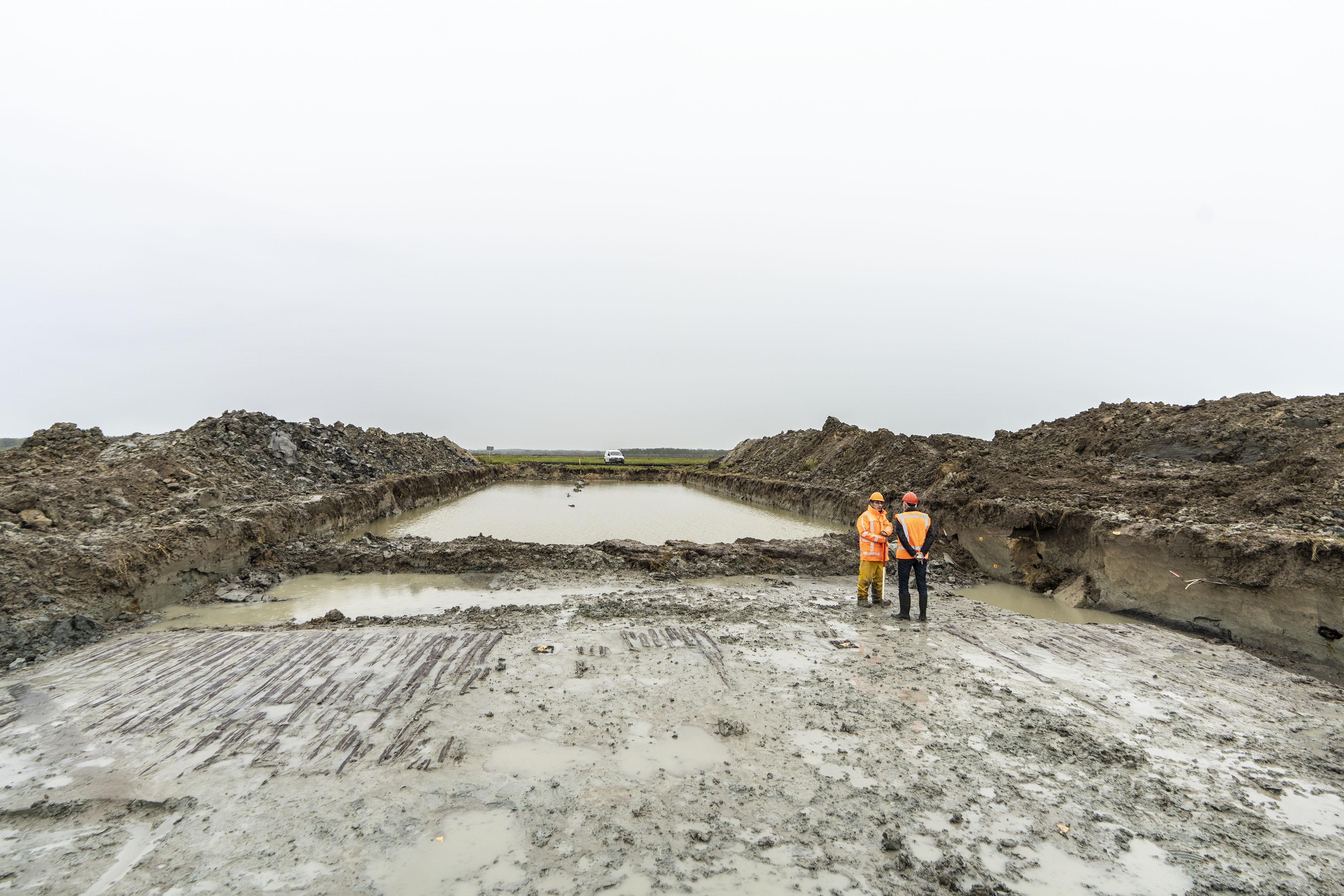 Restanten van enorm Romeins legerkamp opgegraven bij Valkenburg: 'De verovering van Engeland begon hier'