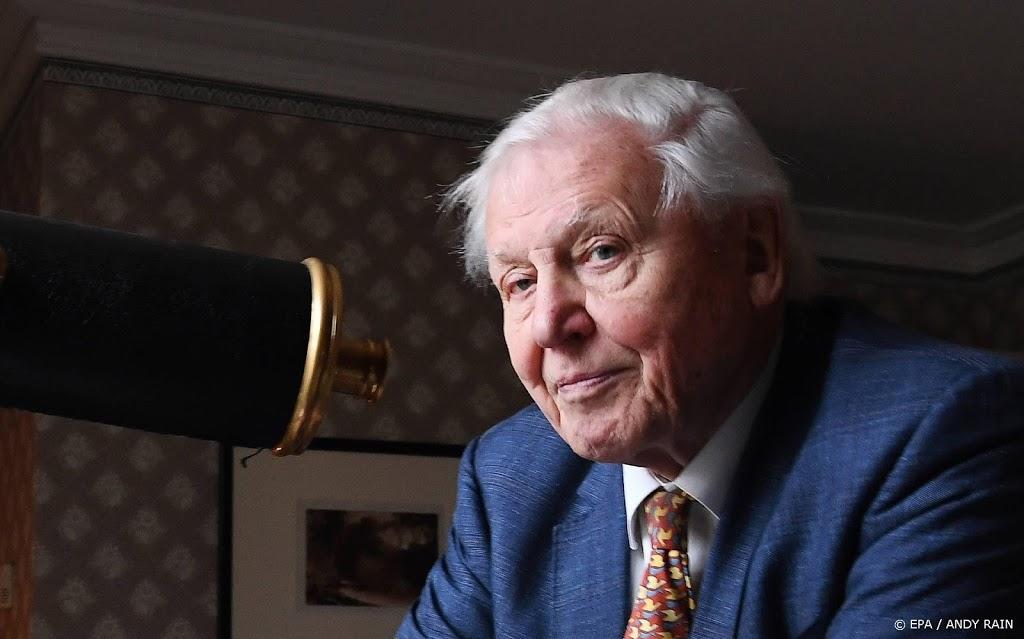 David Attenborough binnen twee uur 530.000 volgers op Instagram