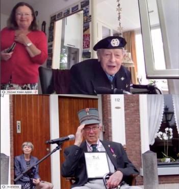 Huzaar Klaas Appel (99) uit Enkhuizen toch bij emotionele herdenking Slag om de Residentie op Ypenburg: 'Ik ben echt sprakeloos' [video]