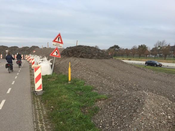 Gemeente Katwijk: 'Toch geen antimoon in bouwstof langs N206'