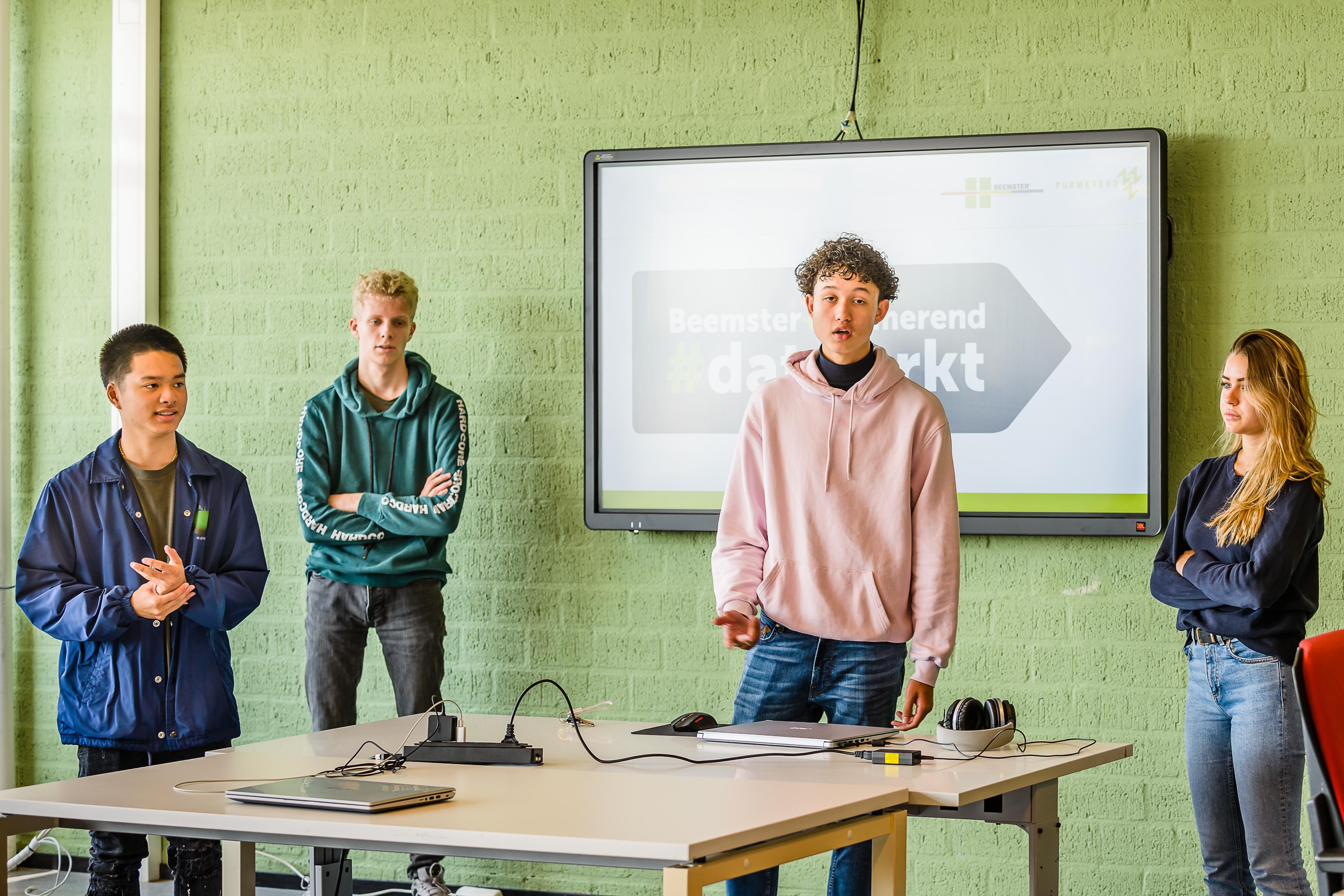 Purmerendse jongeren: 'In 2040 zijn Purmerend, Beemster en Amsterdam één geheel'