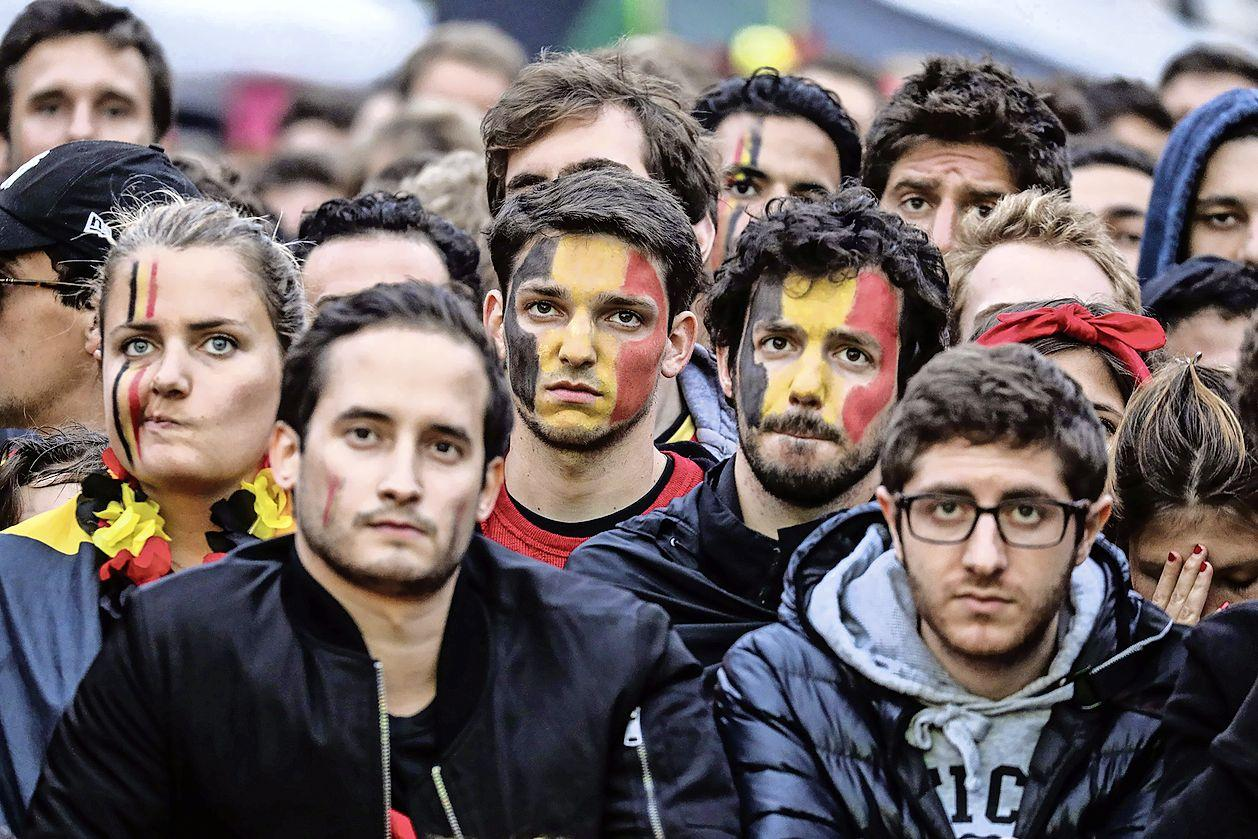 'Hollandse ziekte grijpt om zich heen: Zelfs de altijd zo bescheiden Belgen dachten wel even de cup te pakken'   EK- column
