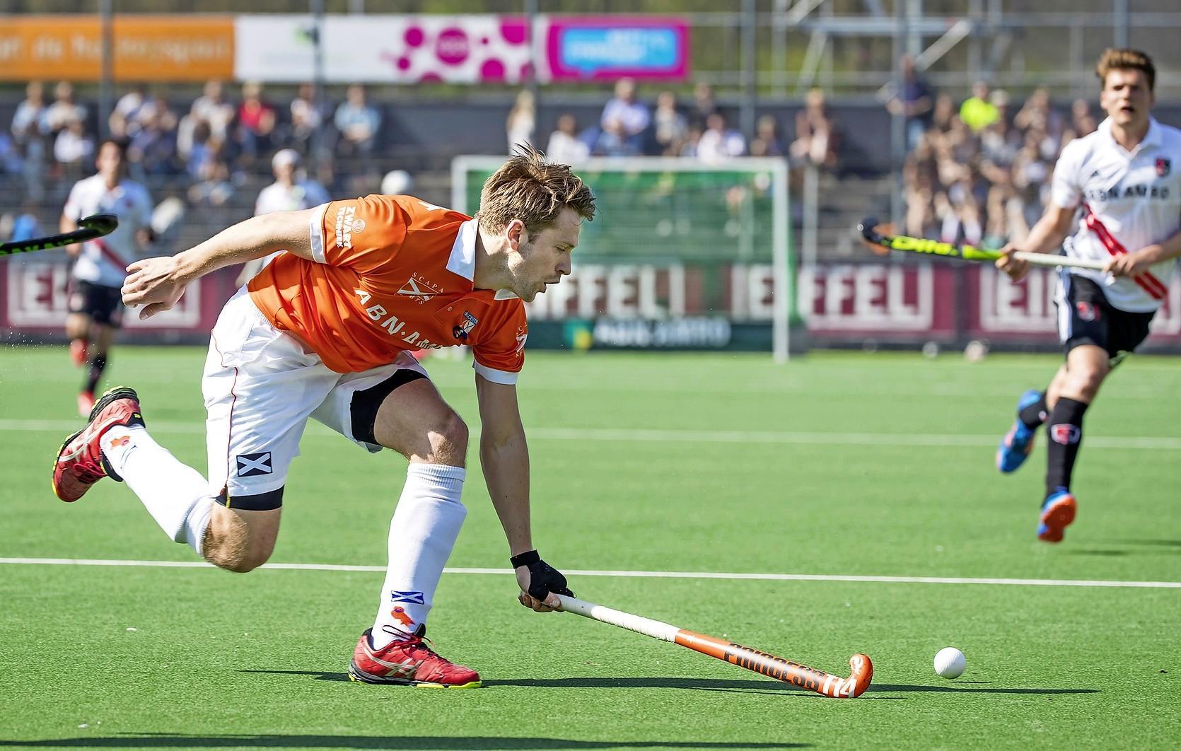 Bloemendaal-hockeyer Mats de Groot: 'Pijn omzetten in energie'