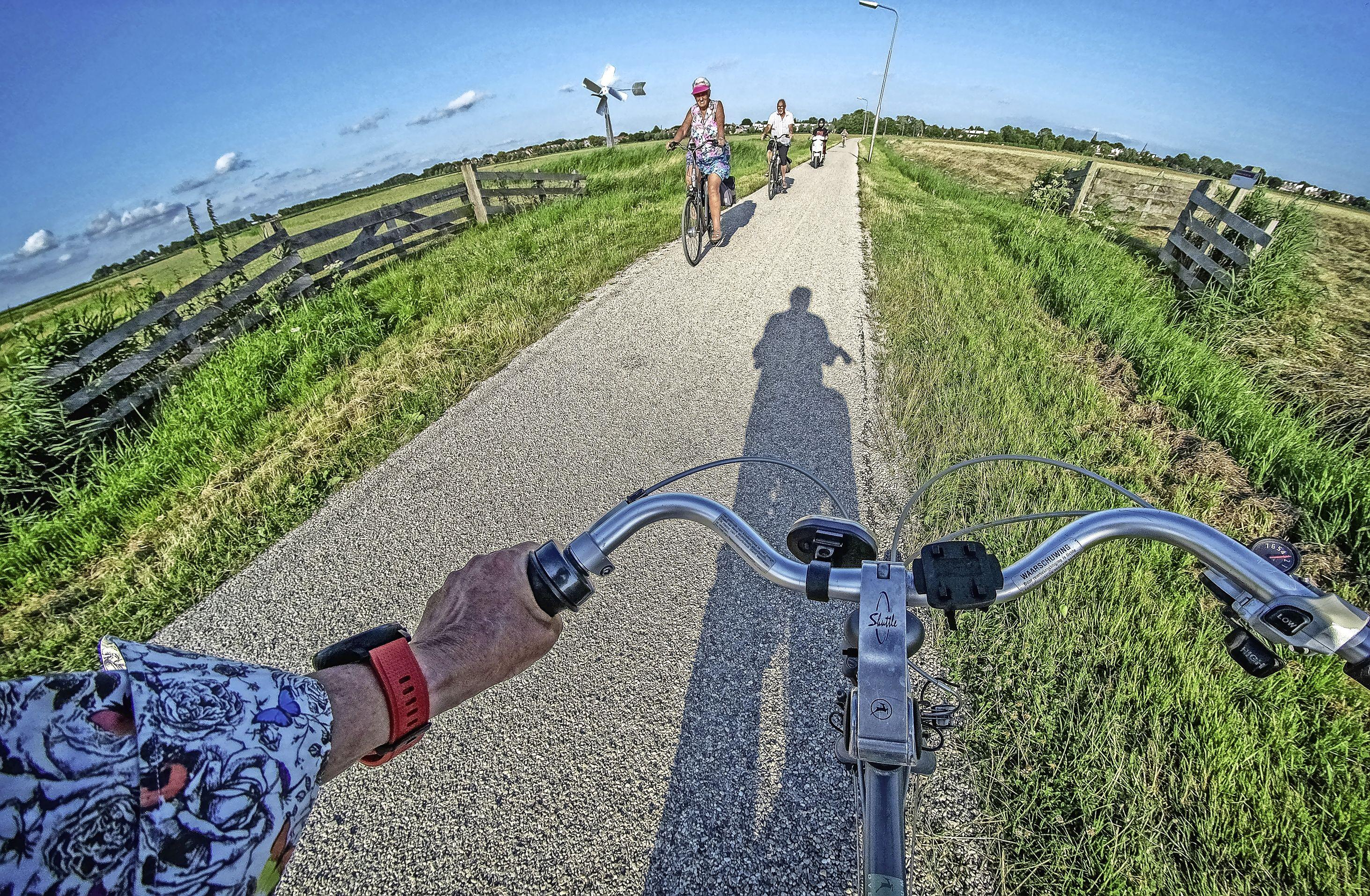Belangrijke verbindingsweg Castricum-Uitgeest weer te fietsen