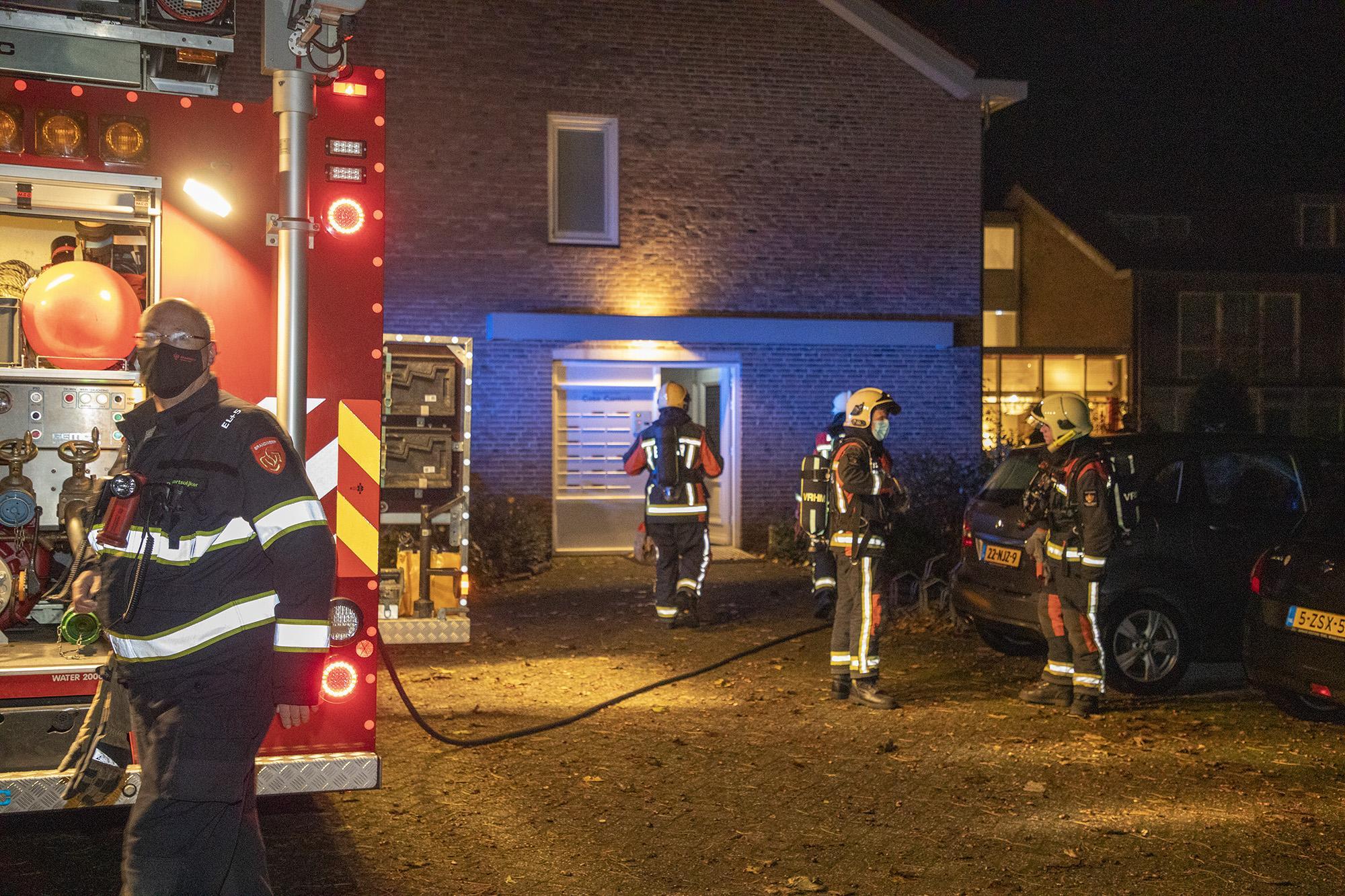 Meerdere appartementen van zorghotel ontruimd bij brand meterkast in Vogelenzang [update]