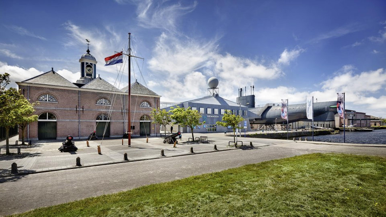 Imposante plannen zijn er voor het nieuwe Marinemuseum, maar de kans dat de tientallen miljoenen hiervoor er ook komen, wordt steeds kleiner. 'De wereld is veranderd'
