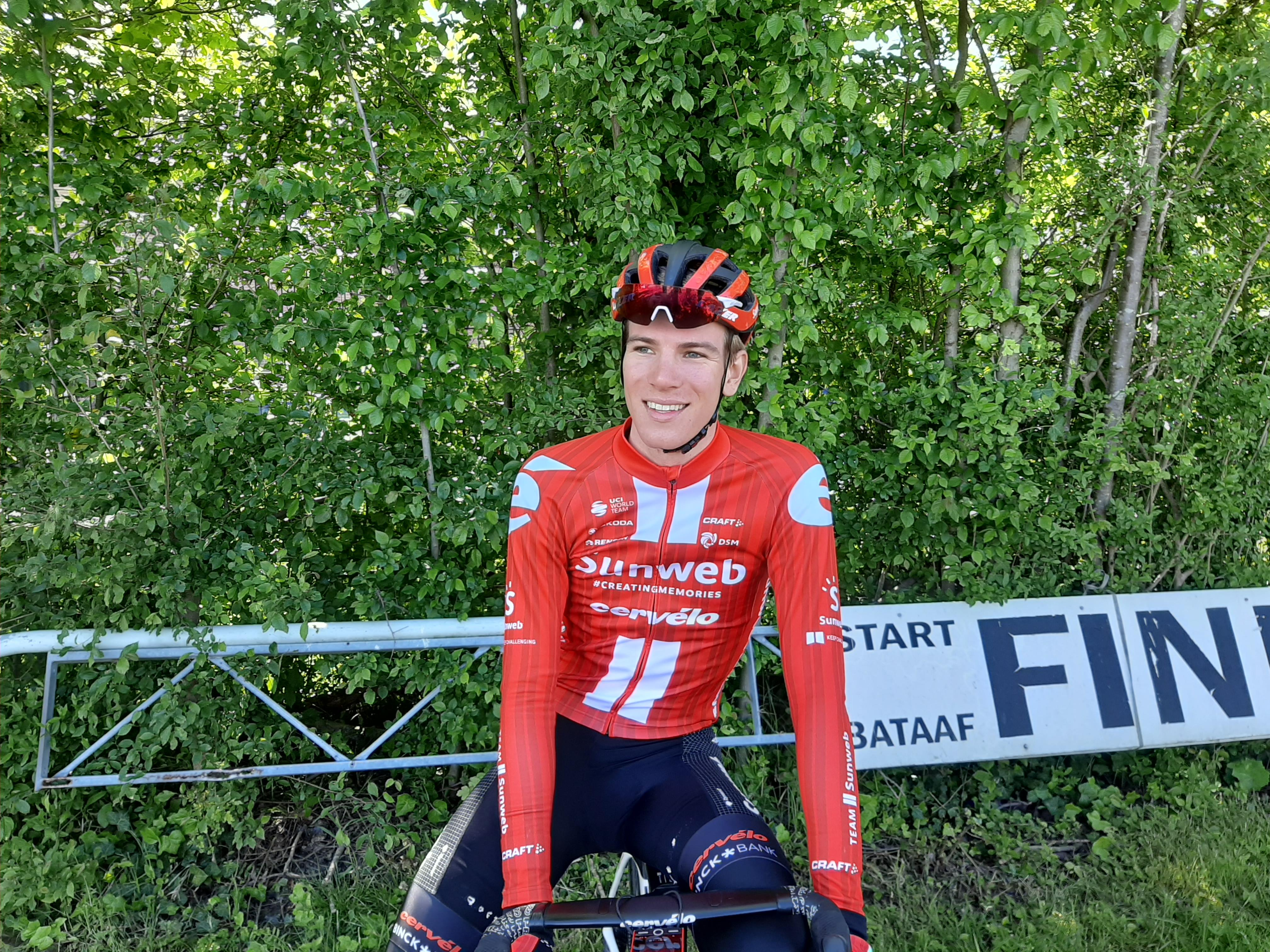 Nils Eekhoff: 'Ik had me echt verheugd om in april de echte Parijs-Roubaix te rijden'