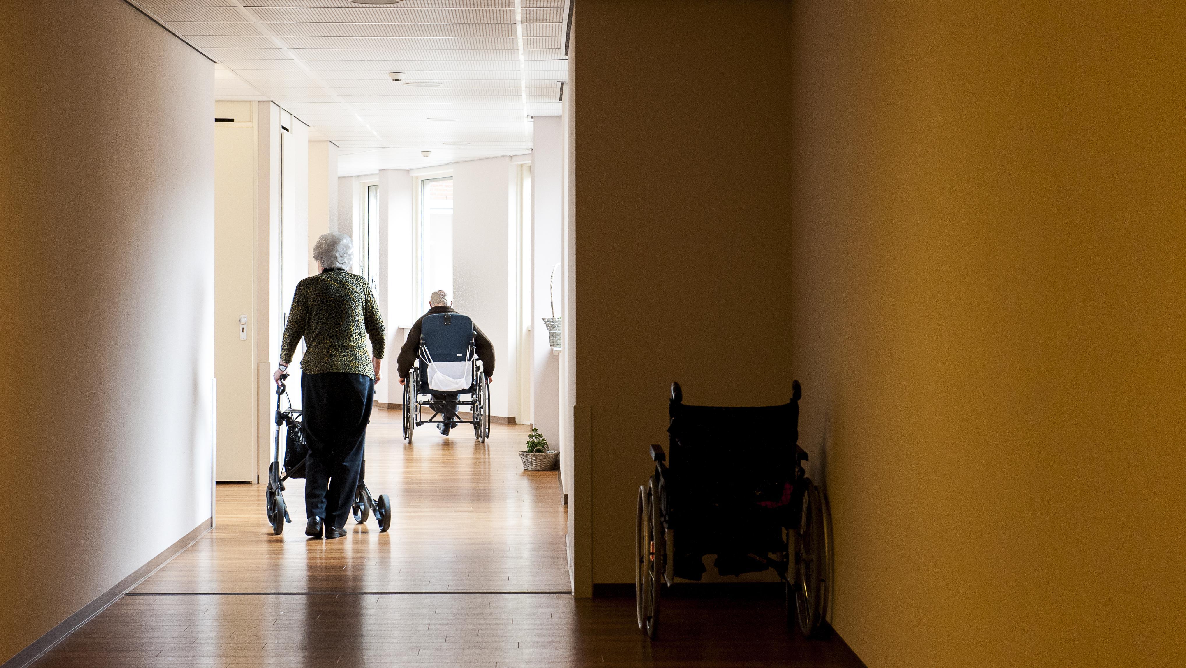 Verpleeghuizen in de Leidse regio beginnen komende week met vaccineren bewoners