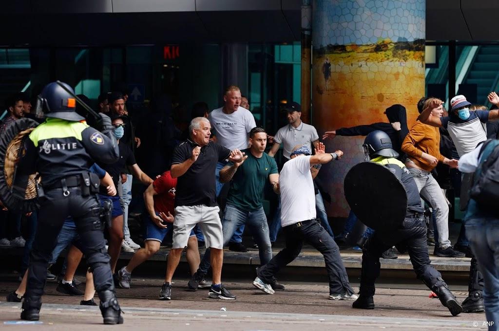 Relschoppers demonstratie Viruswaarheid voor politierechter