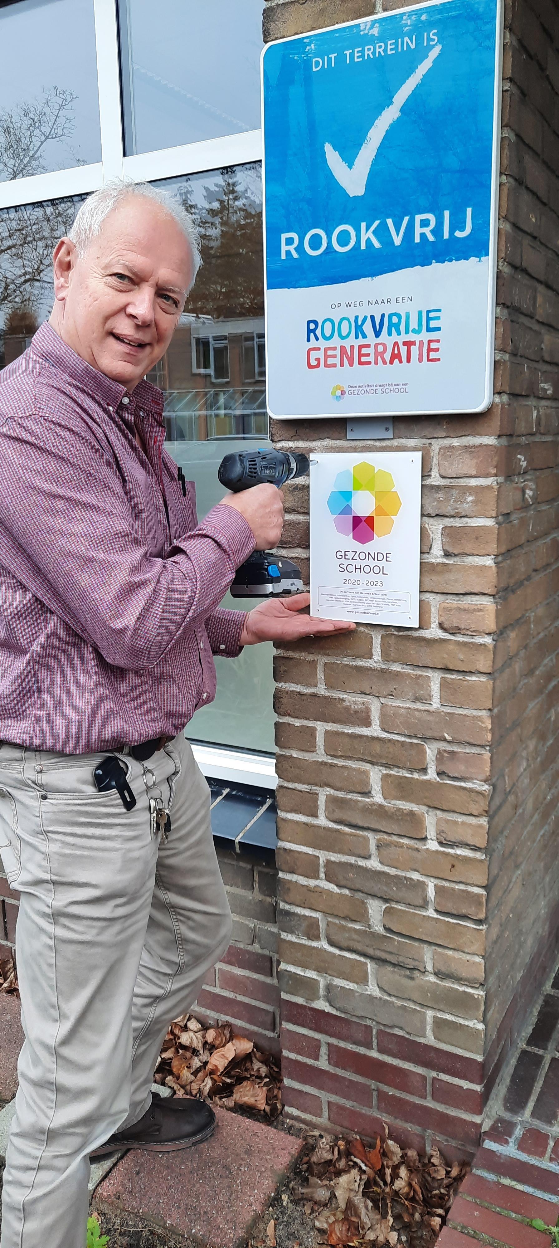 J.H. Donnerschool in Hilversum behaalt vignet Gezonde School