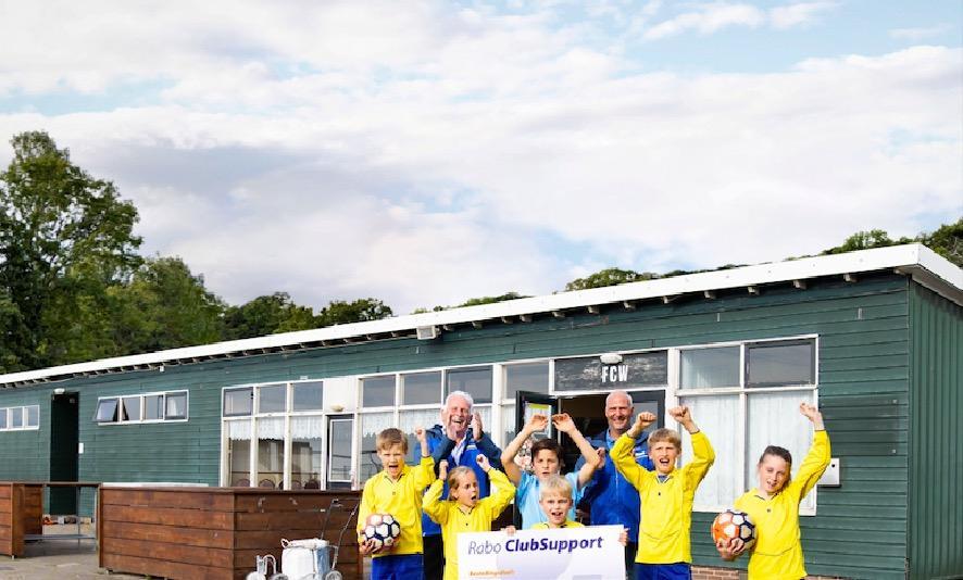 Steuntje in de rug voor Atletiekvereniging Zuidwal en 135 andere clubs en verenigingen in Gooi en Vecht