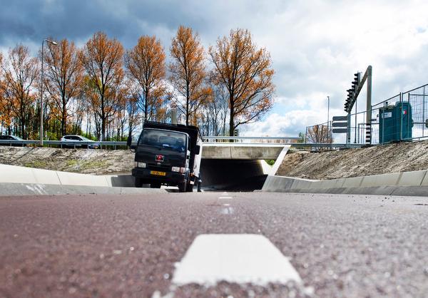 Fietstunnels Kruisweg Hoofddorp op 11 mei definitief open
