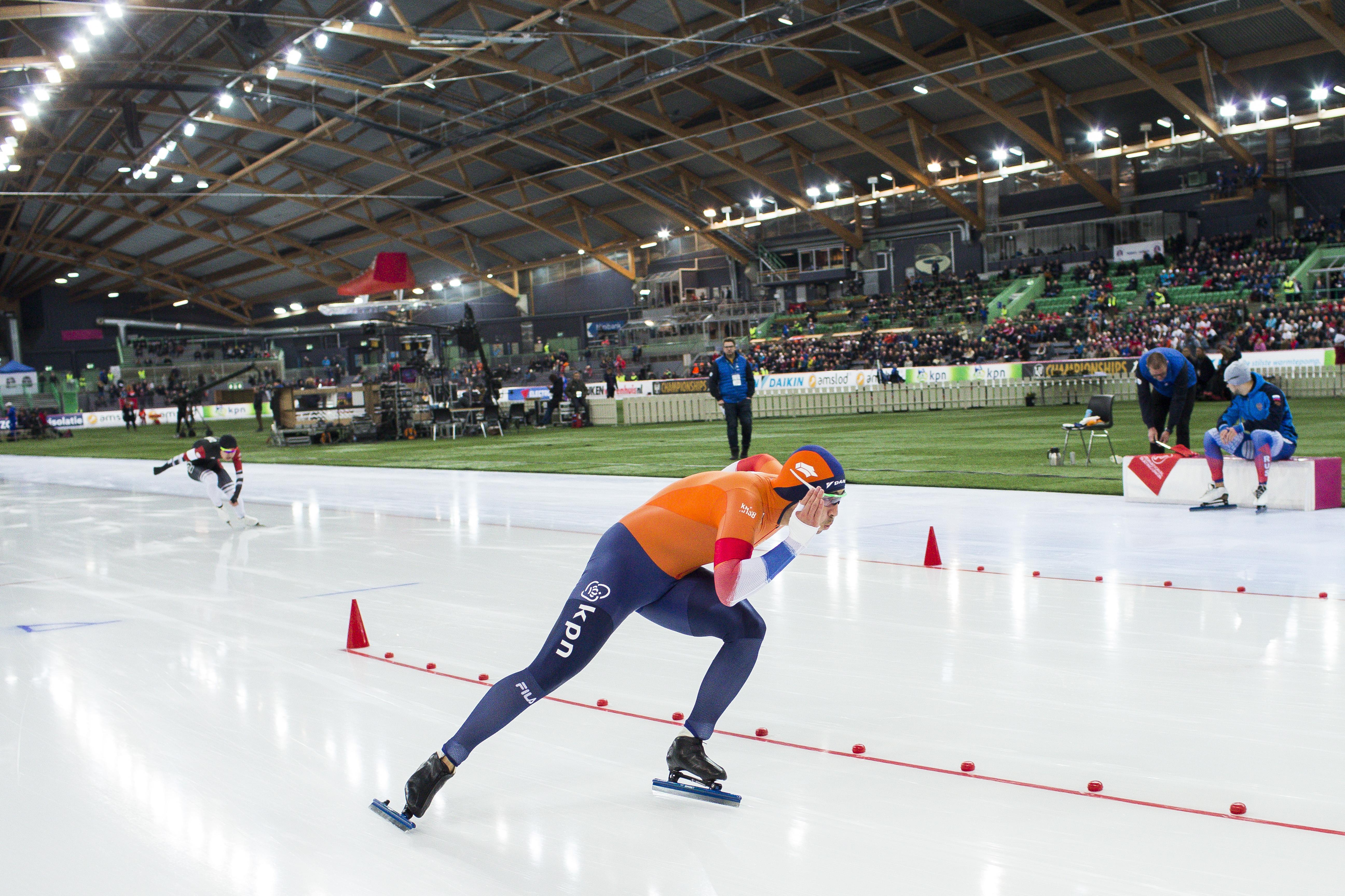 Nuis en Verbij stellen bij WK schaatsen ook teleur op 1000 meter