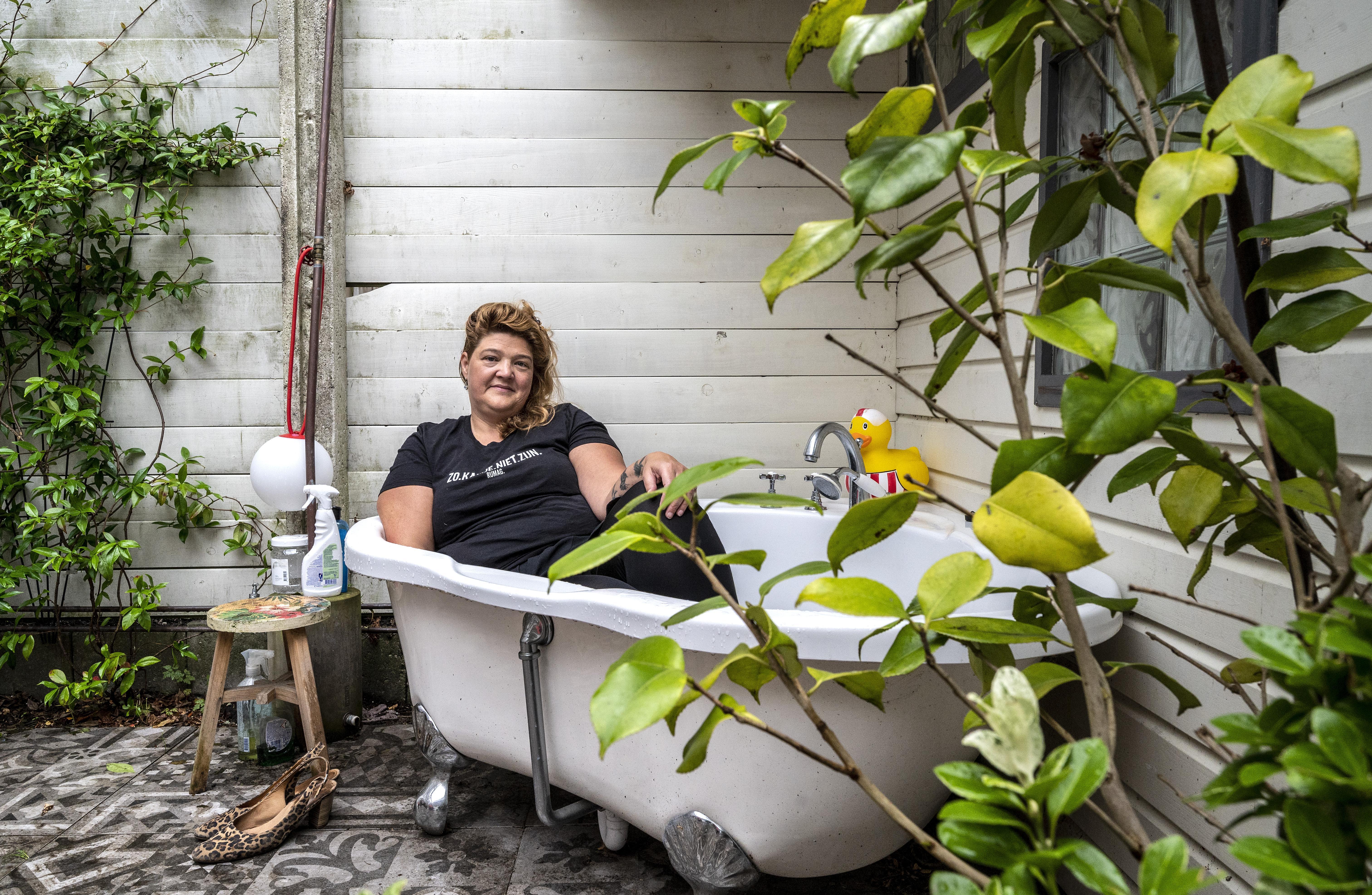 Een kleine oase in Haarlem weerspiegelt het leven van Renza