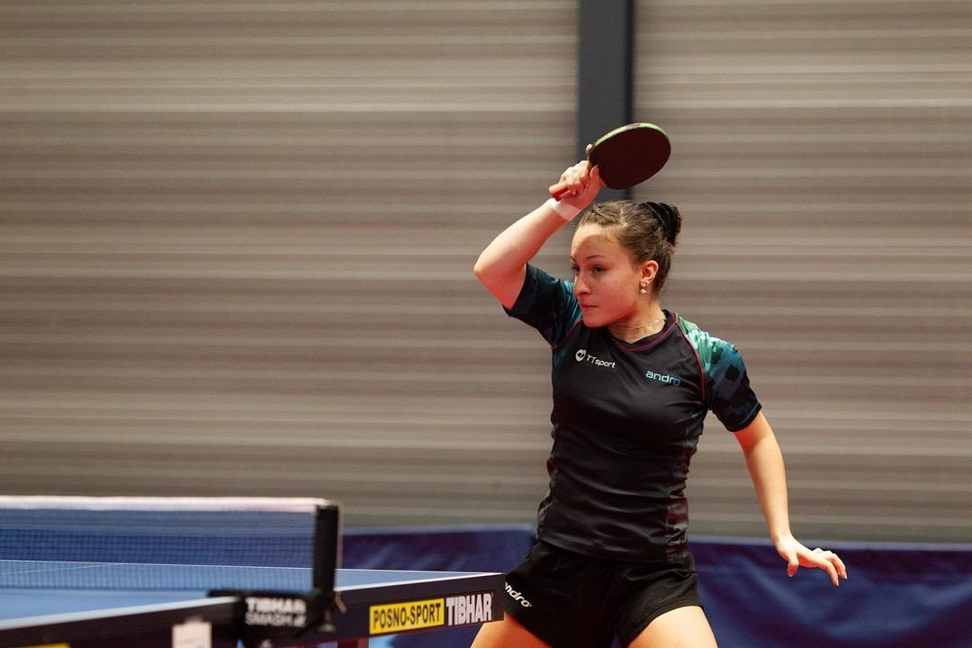 Tafeltennisster Dobrila Jorguseska (Den Helder) speelt liever bij de mannen dan de vrouwen: 'De competitie is leuker, heeft meer variatie'