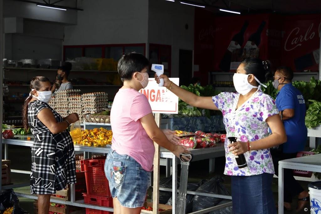 Geen daling van coronagevallen in Suriname, code zwart dreigt