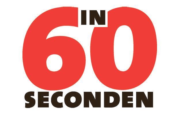 In 60 seconden: Mondkapje
