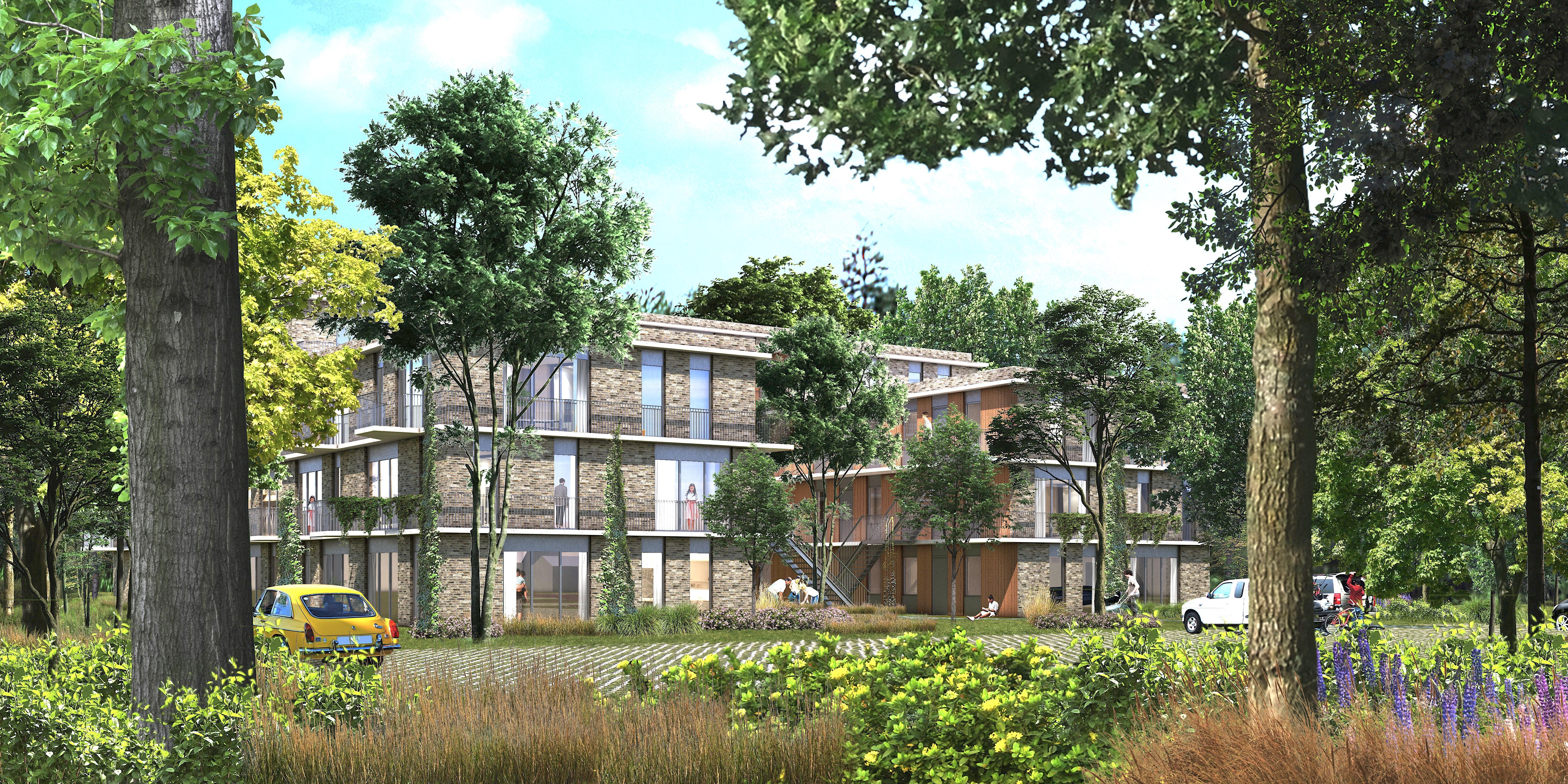 Gebouw in 'De Rimboe' wordt gesloopt en er komen vijftig nieuwe appartementen, zo is het plan van Kennemer Wonen