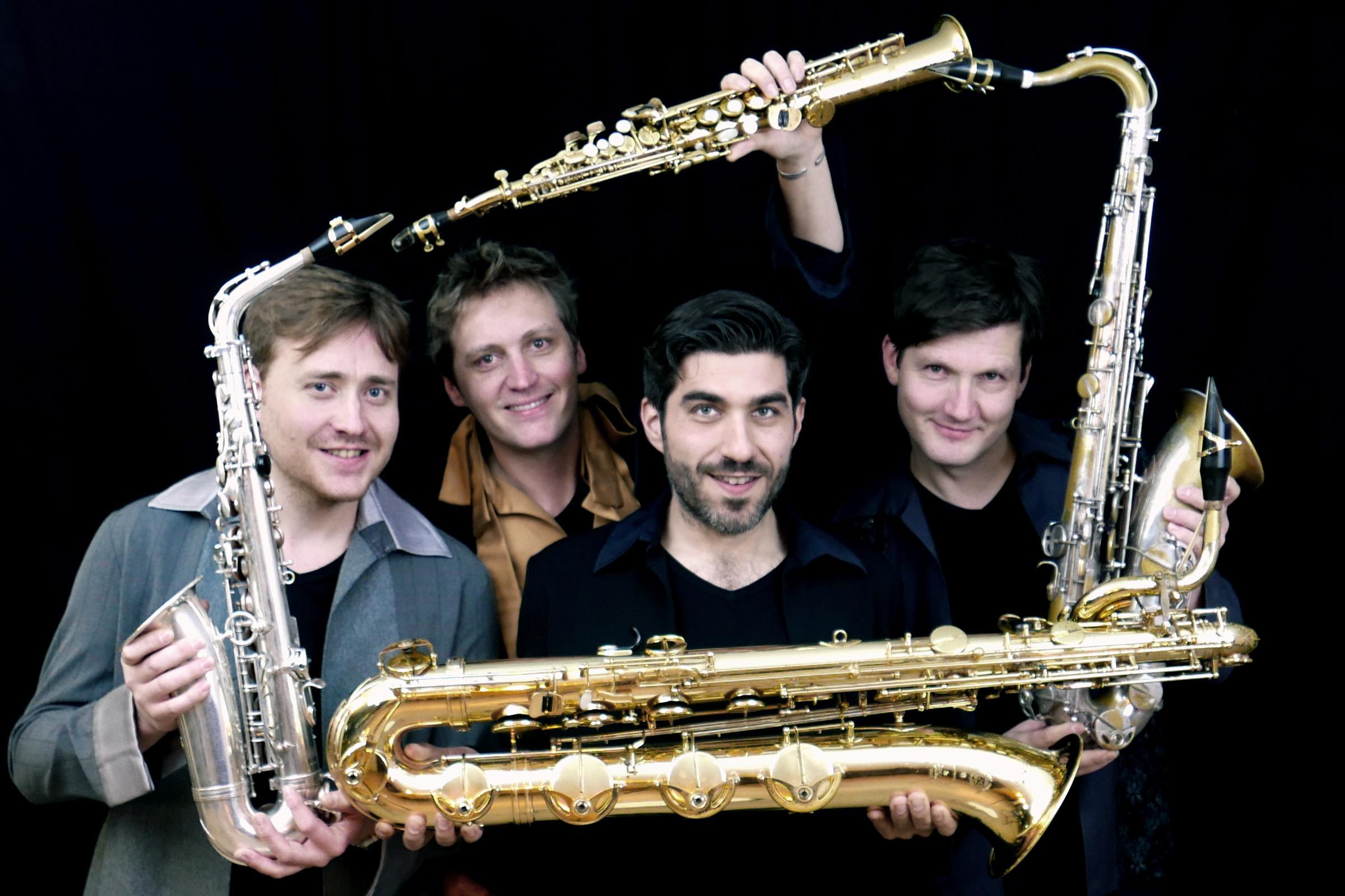 Saxofoon als orgel