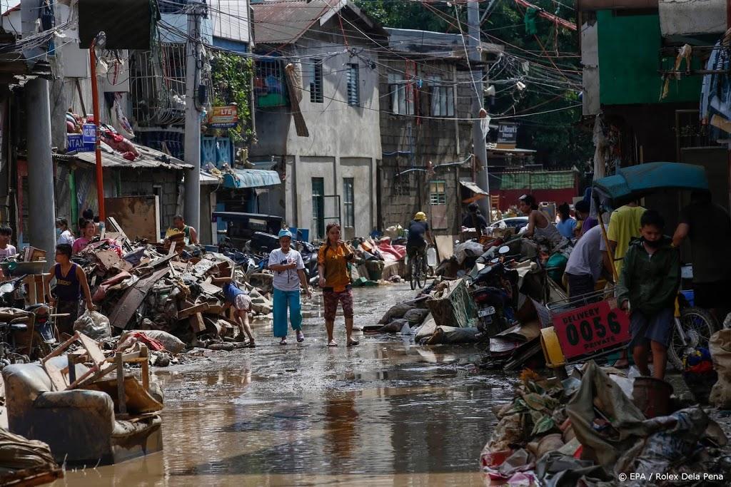 Dodental op Filipijnen door tyfoon Vamco weer gestegen