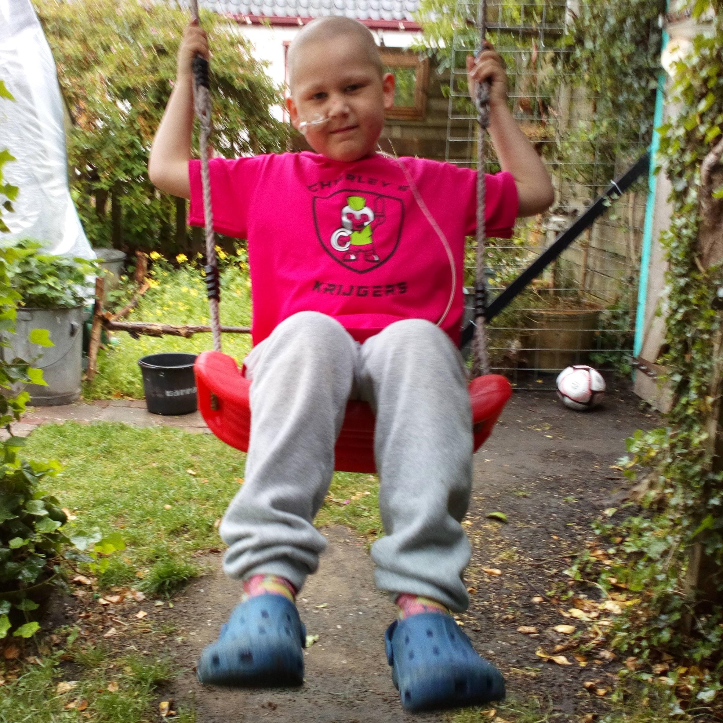 Crowdfundingsactie voor ernstig zieke Charley (7) uit Waarland