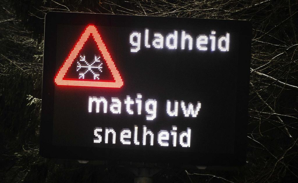 KNMI waarschuwt voor gladheid in Noord-Holland: code geel