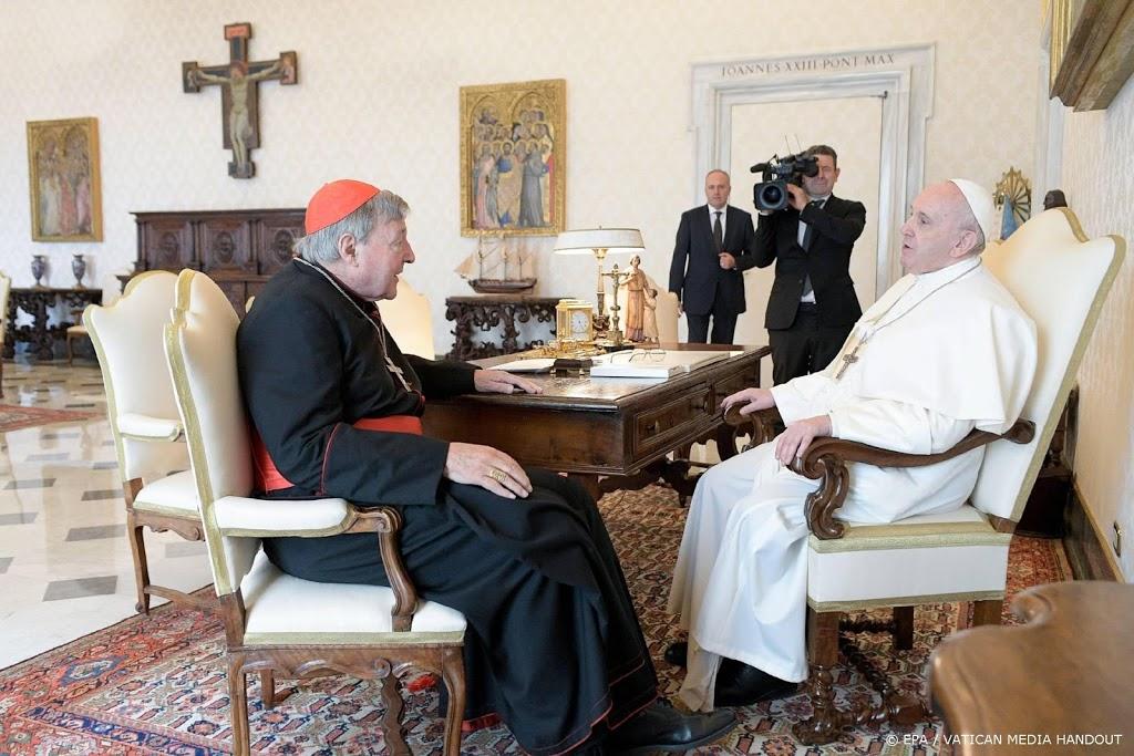 Australië onderzoekt grote som geld uit Vaticaan in zaak-Pell