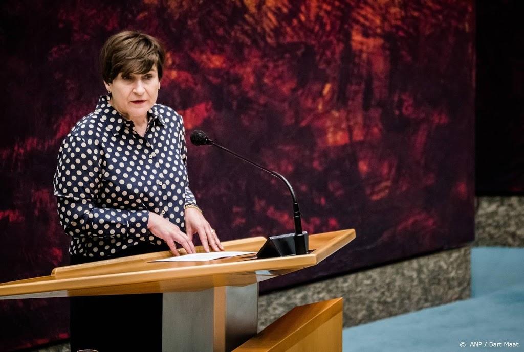 Lilianne Ploumen (PvdA) brengt stem uit voor Kamerverkiezingen