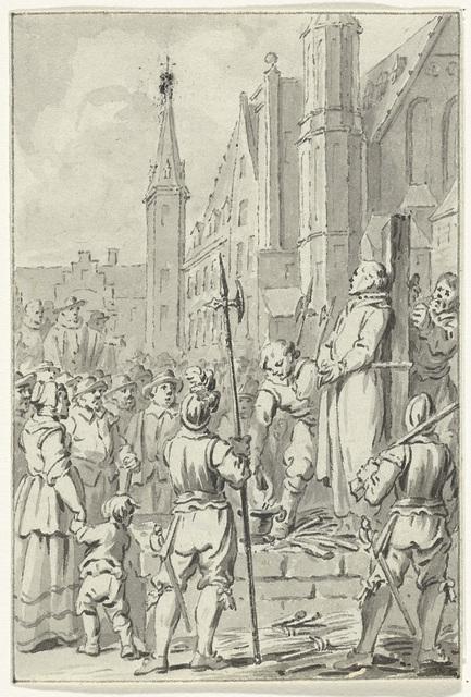 De brandstapel stond al klaar op de Grote Markt: het ketterproces dat de inquisiteur in 1458 voerde tegen de Haarlemse kleermaker Edo