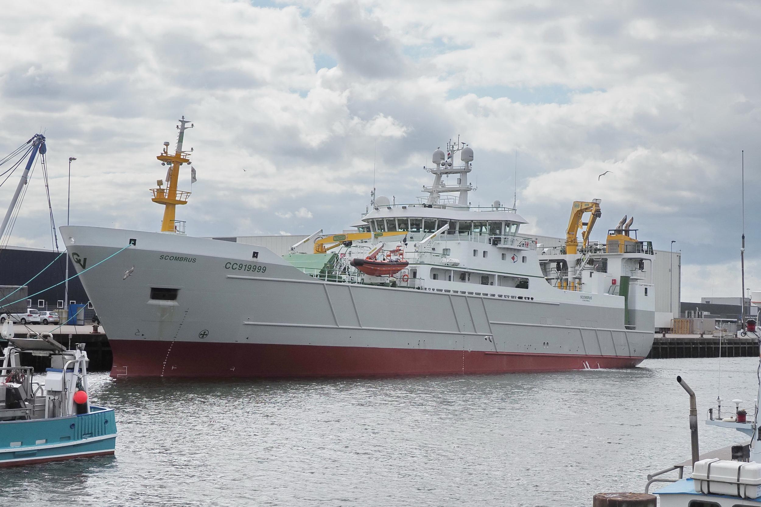 De nieuwste hektrawler Scombrus van rederij Vrolijk is energiezuiniger en levert een betere kwaliteit vis dan haar naamgenoot. 'Dat was het uitgangspunt bij het ontwerp'