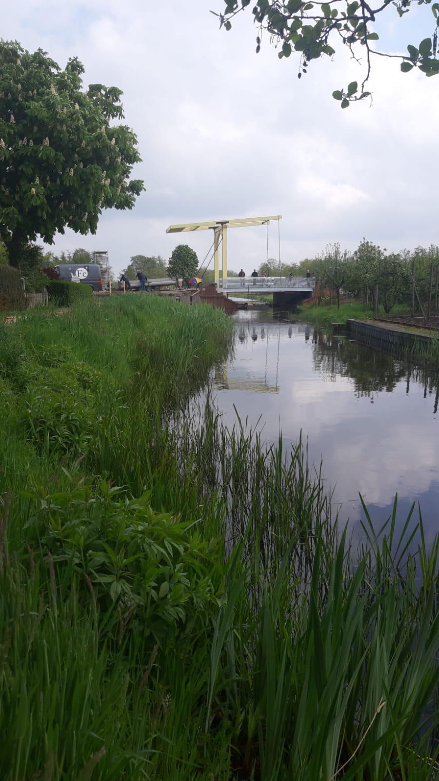 Nostalgie in optima forma: De Gele Brug in Ankeveen ziet er weer exact zo uit als een eeuw geleden