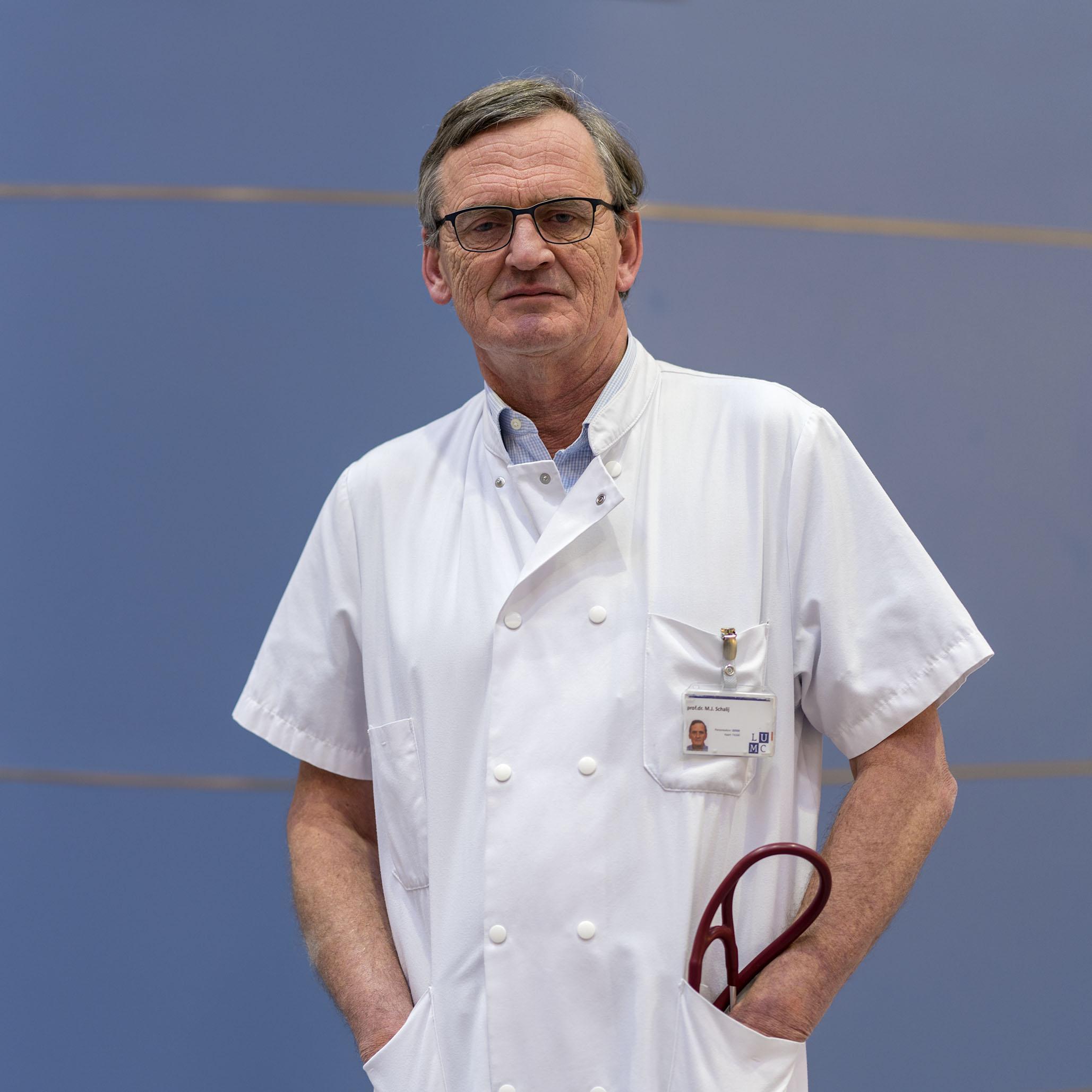 Professor Schalij (LUMC): 'Zorg voor coronapatiënten is intensief, vandaar nu al overplaatsingen naar Brabant'