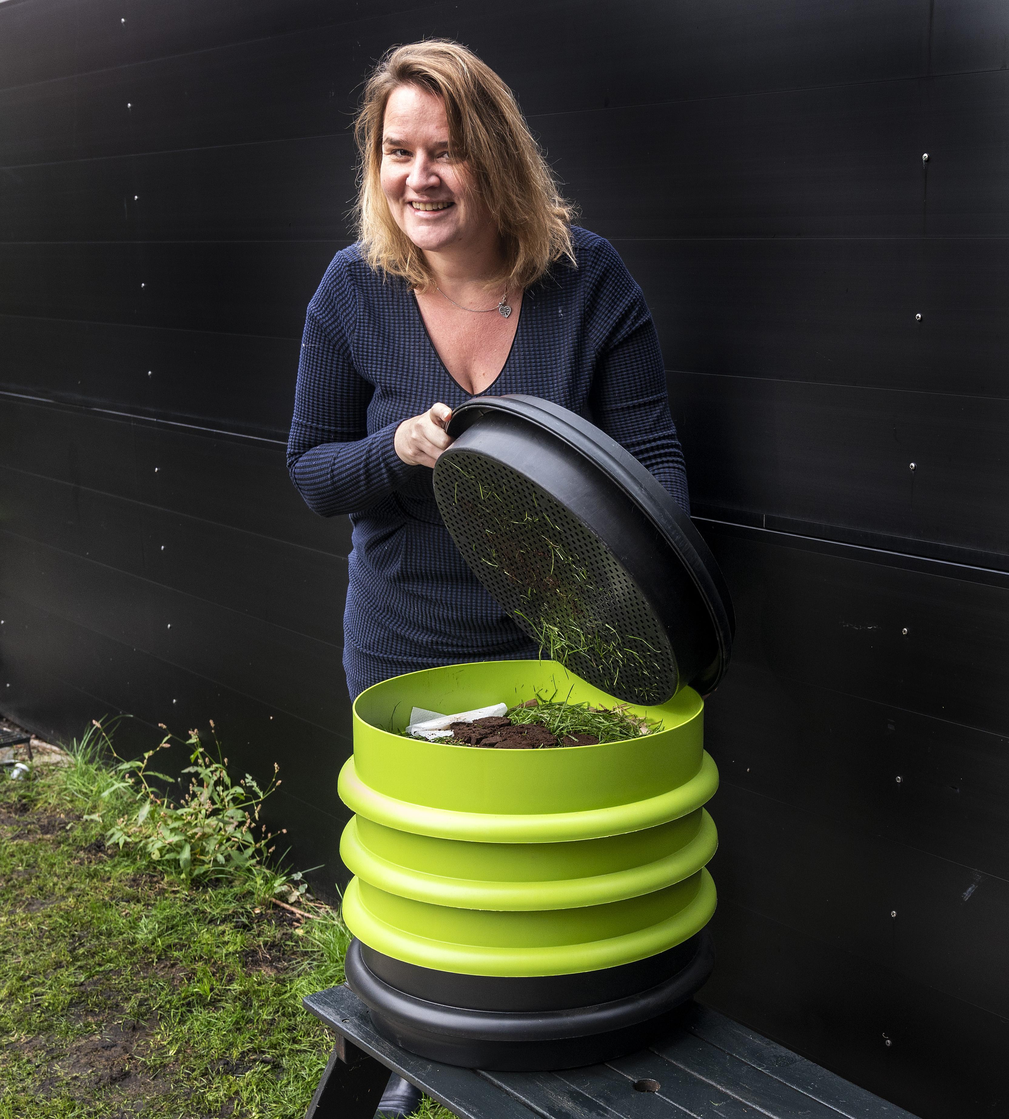 Haarlems raadslid Melissa Oosterbroek (GroenLinks) wil zo 'klimaatpositief' mogelijk leven: 'Ik ben wat duurzaamheid betreft een rupsje-nooit-genoeg'