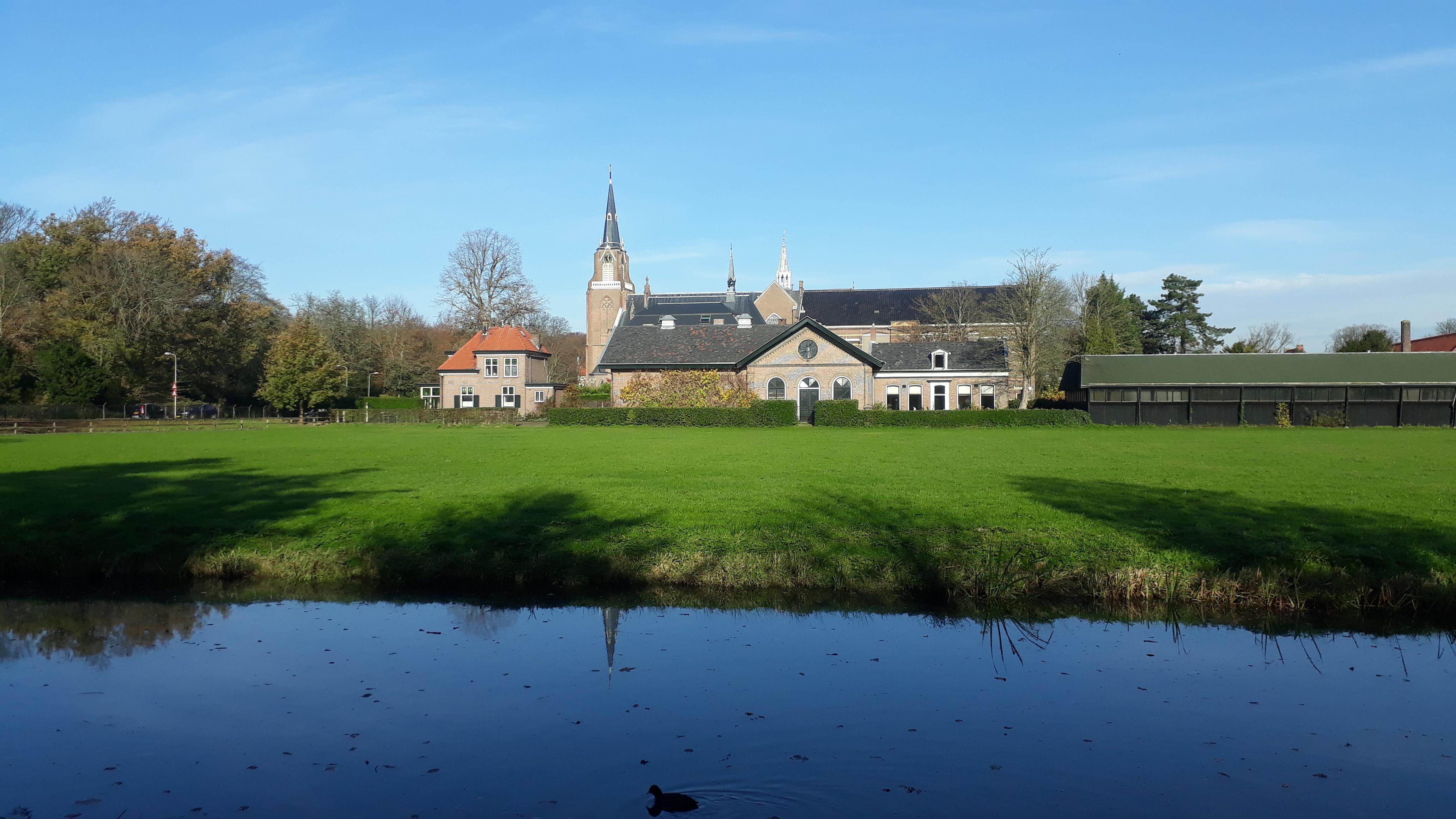 Lezersfoto: Zicht op Overveen vanaf Houtmanpad