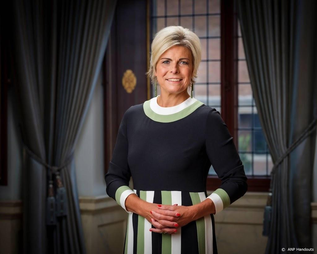 Prinses Laurentien begint coronaproof de Nationale Voorleesdagen