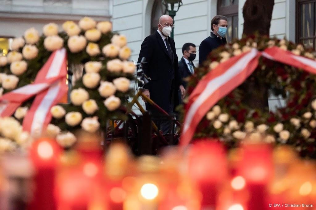 EU-president Michel bij herdenking terreurslachtoffers Wenen