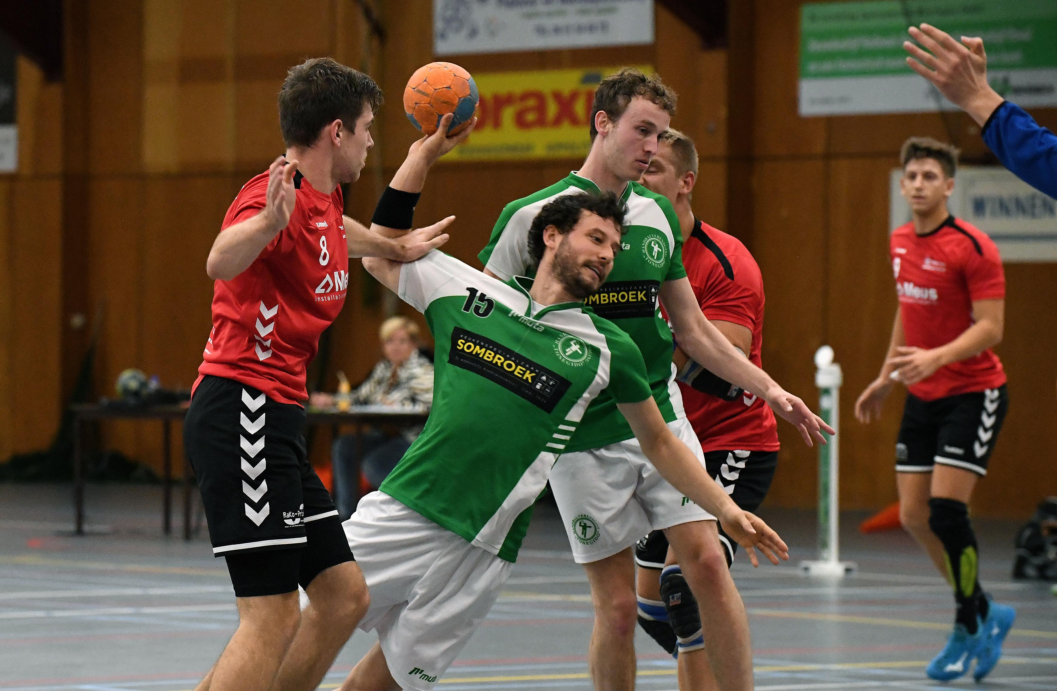 Nooit eerder speelden de handballers van Tonegido uit Hippolytushoef op zo'n hoog niveau. En dan ineens, na welgeteld vier duels in de eerste divisie, zit het seizoen er alweer op