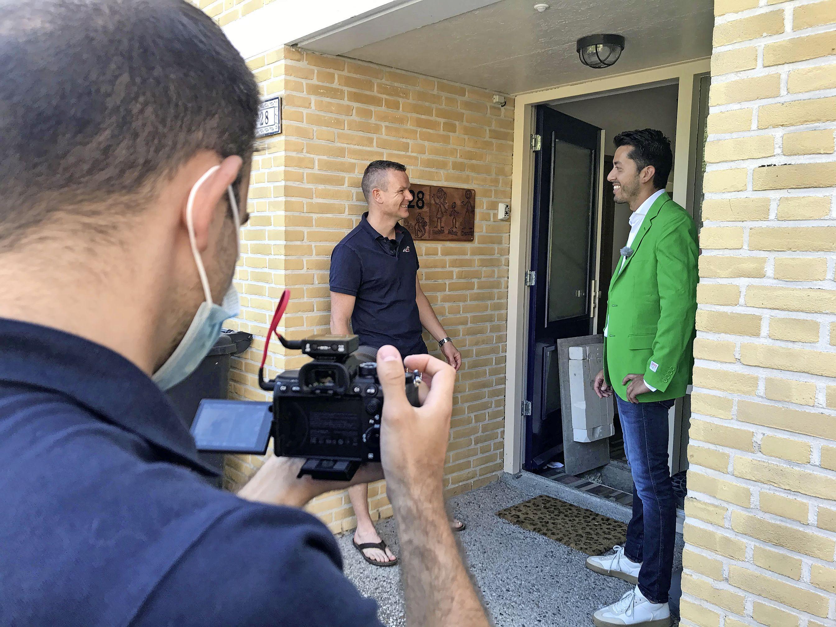 Digitaal gluren bij duurzame buren. Inwoners uit regio Alkmaar worden elke avond digitaal rondgeleid door een duurzame woning