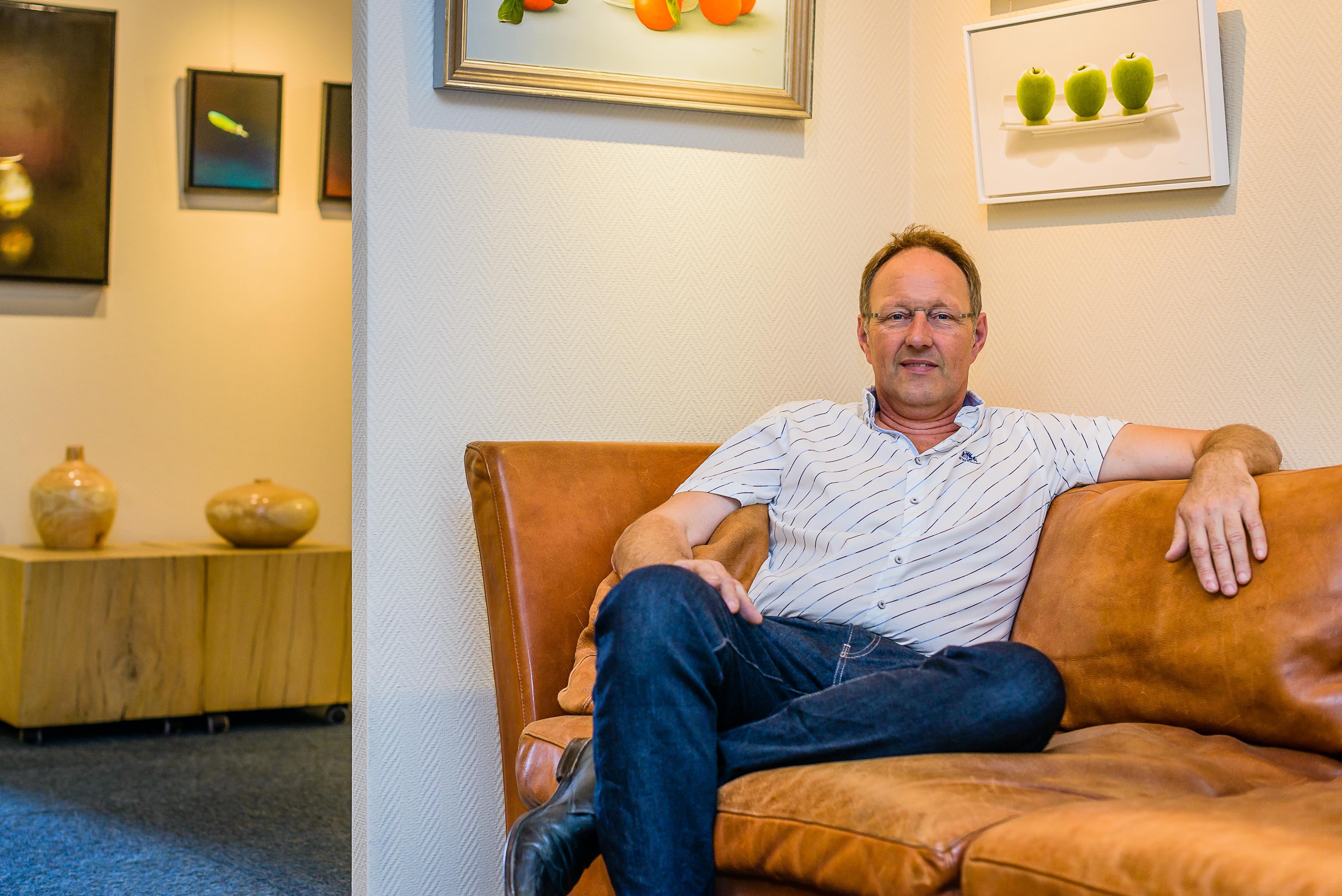 Rob Staphorsius stelt hoge eisen aan kunst in zijn galerie