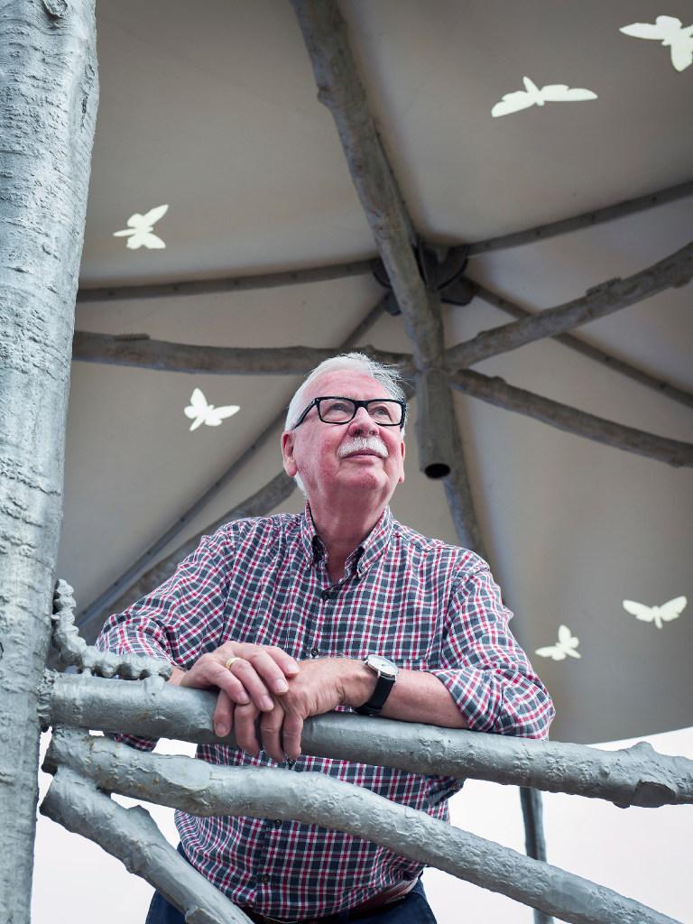 Piet Kwak krijgt kippenvel bij Harmoniekoepel