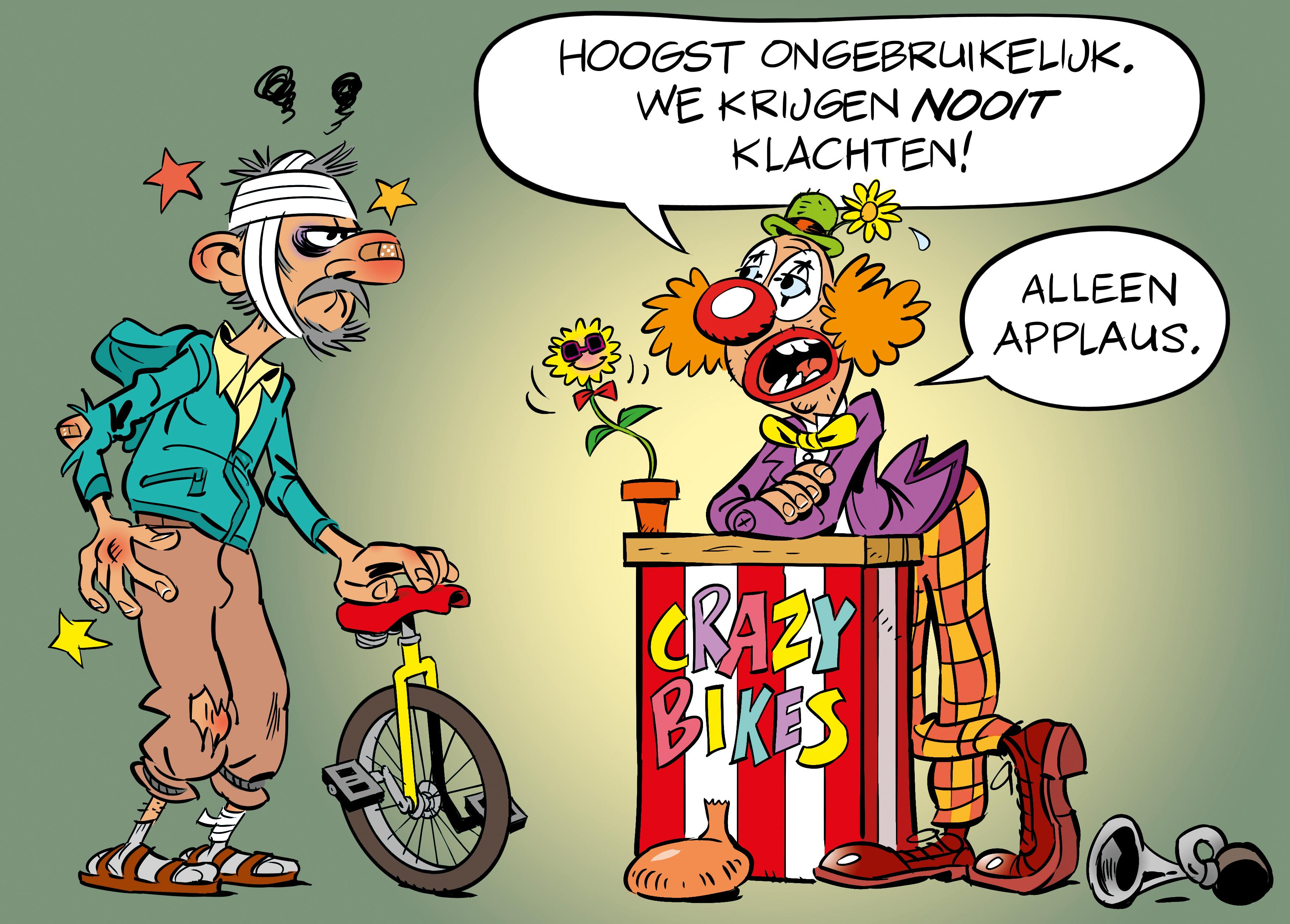 Van alles mis met de twee Stella-bikes van Monica en Bas Molenaar-Zoetelief