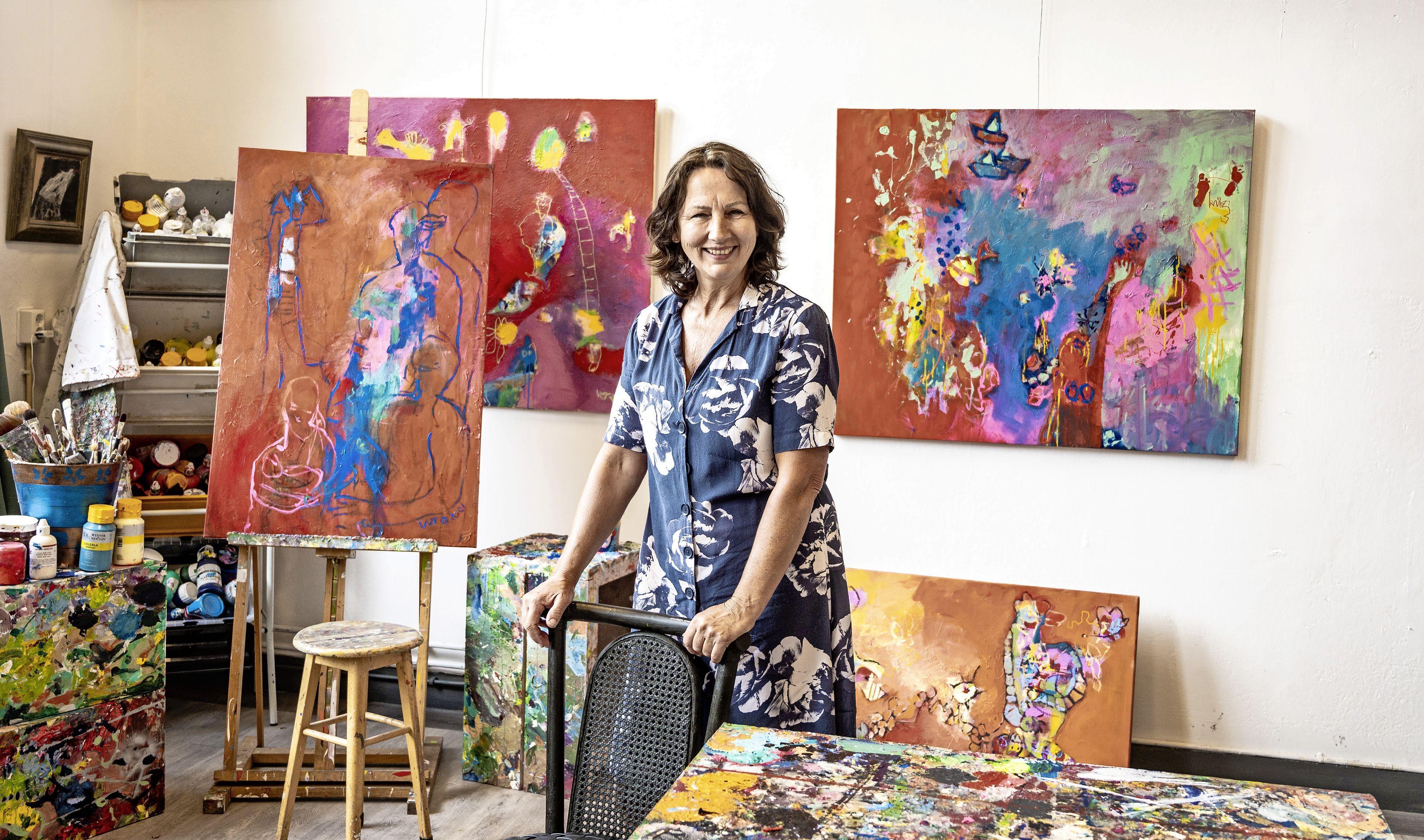 De energie van de kunstenaars stroomt weer door de oude Nicolaas Beetsschool