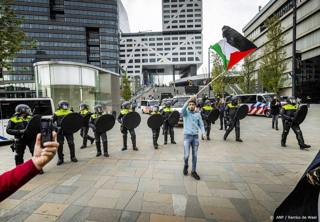 Noodbevel in centrum van Utrecht na ontbonden demonstratie