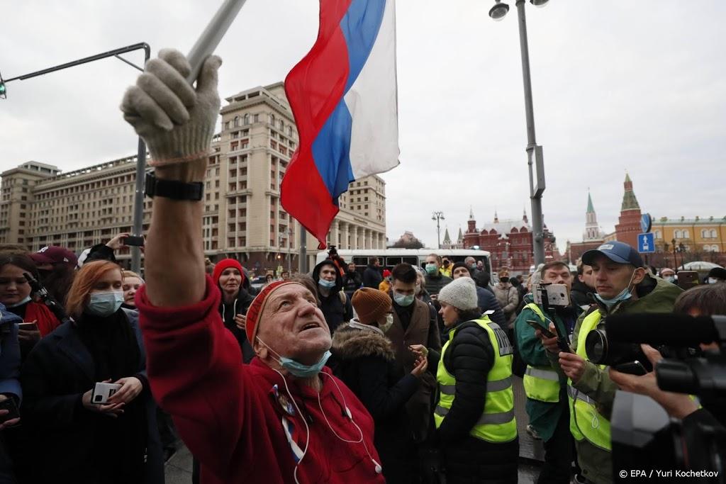 Navalni-aanhangers geleidelijk overal in Rusland de straat op