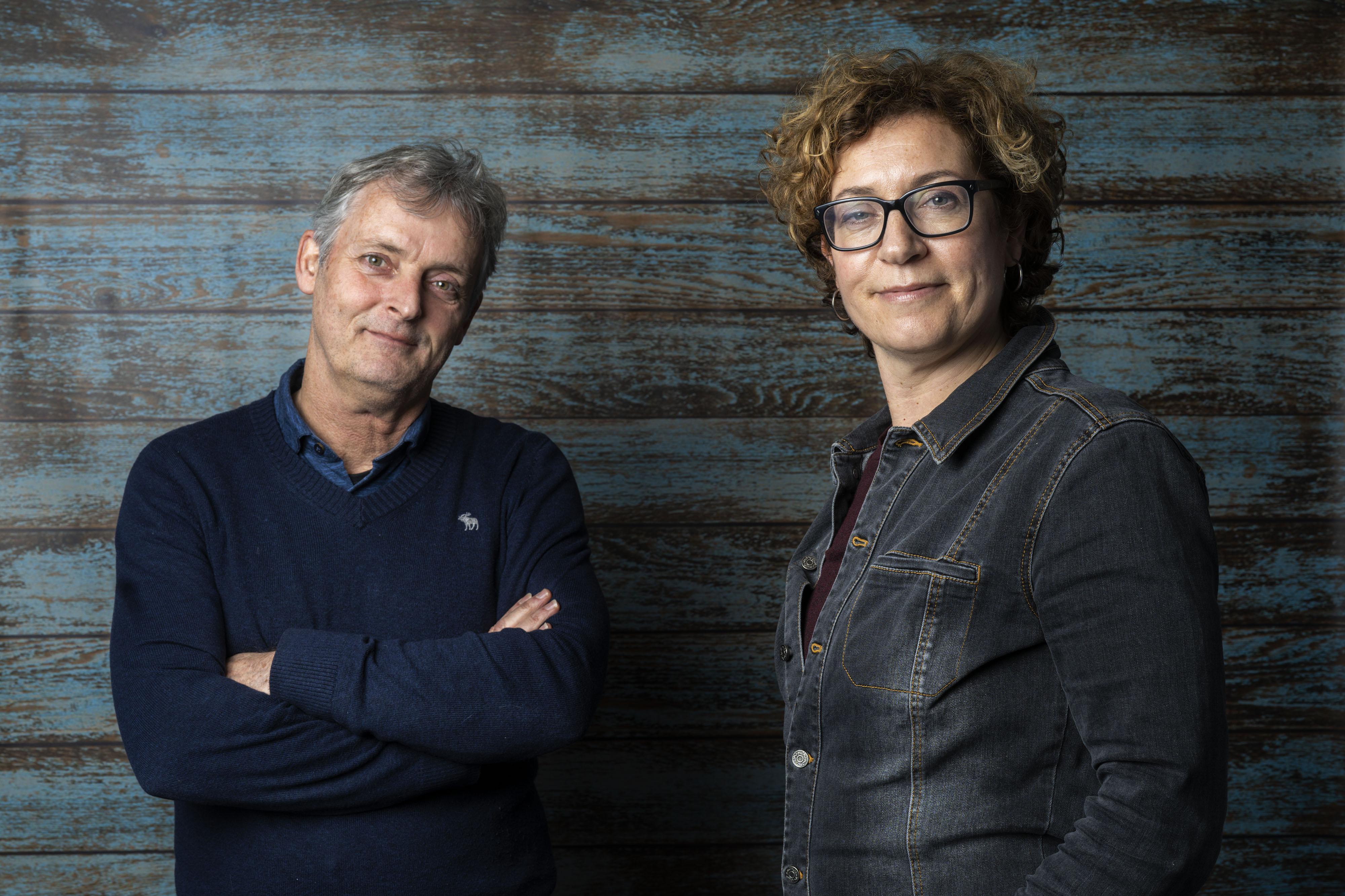 Piet Ooms en Daniëlle Hoek: 'Soms moet je lef hebben'