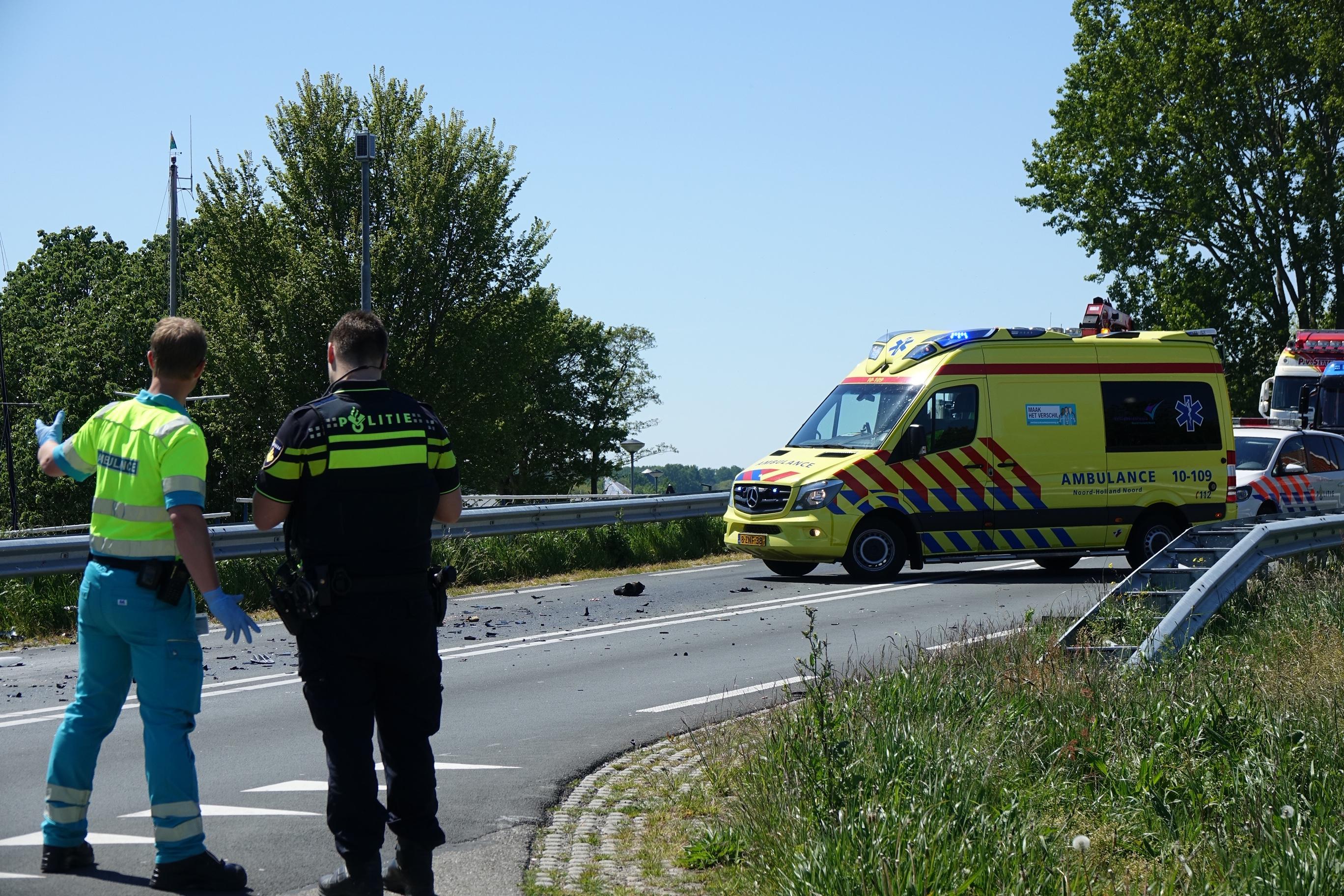 Motorrijder komt om bij aanrijding met vrachtwagen in Bovenkarspel