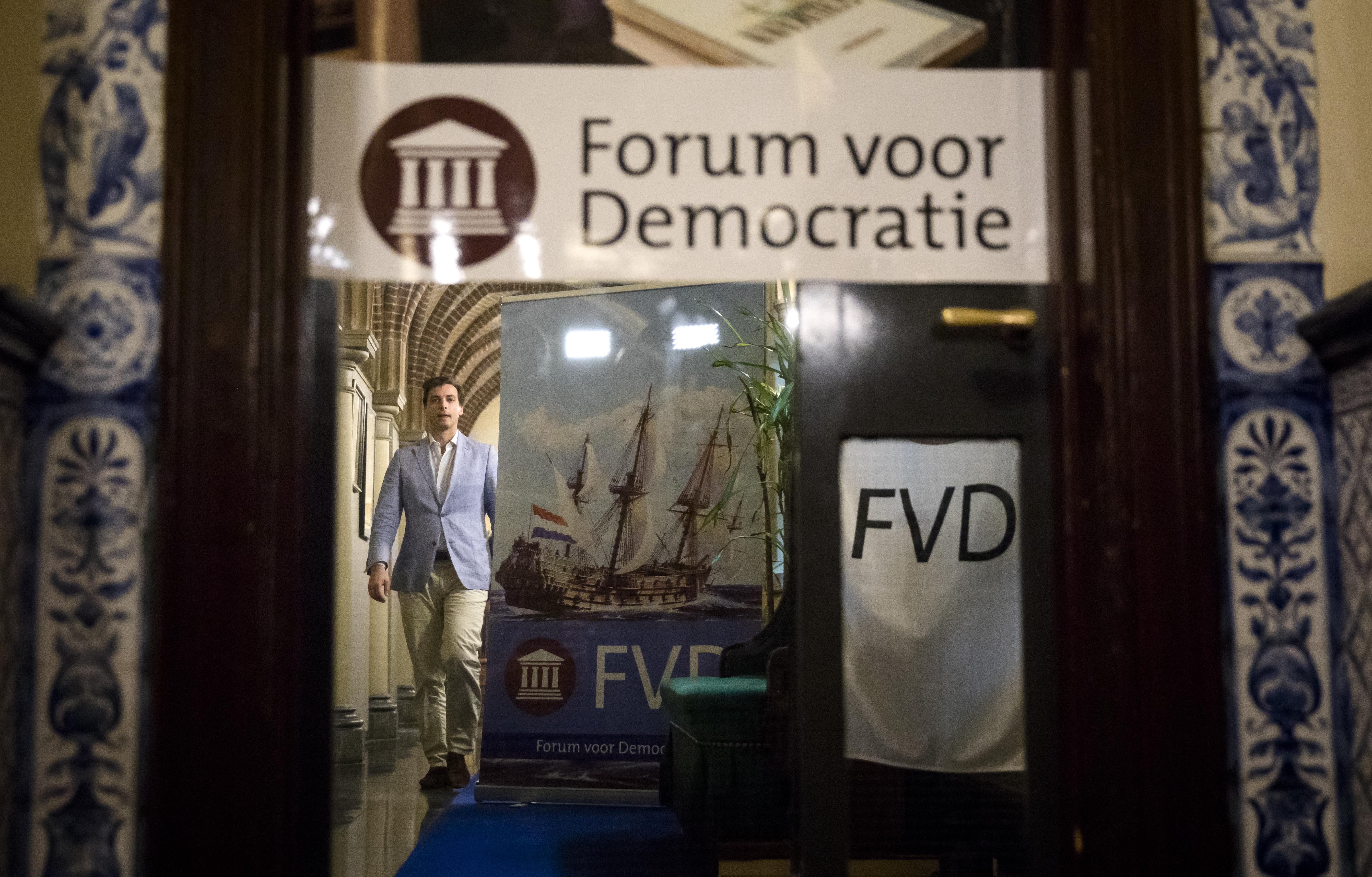FVD niet in beeld voor bestuur Zuid-Holland
